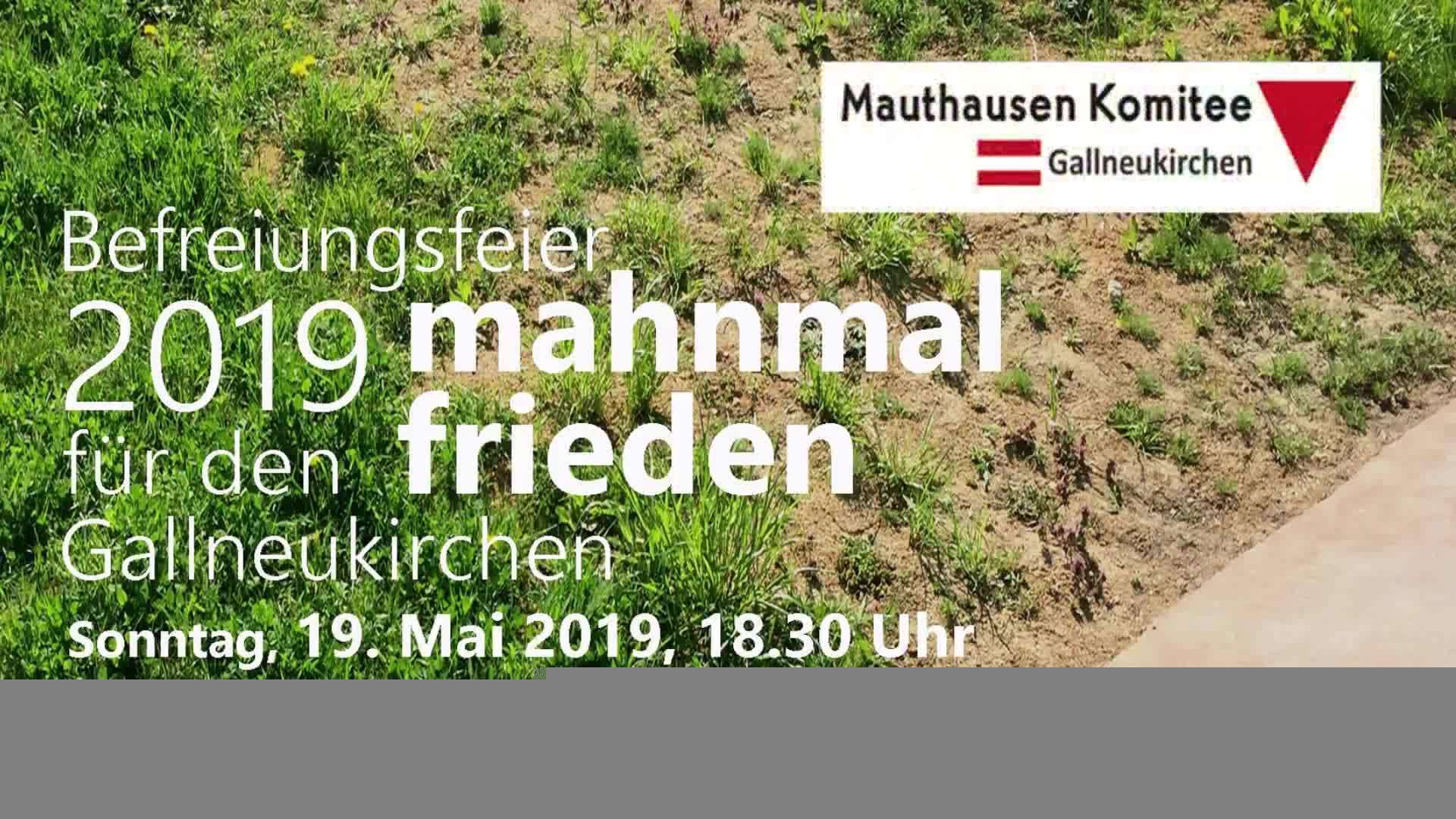 Mahnmalfeier 2019 in Gallneukirchen