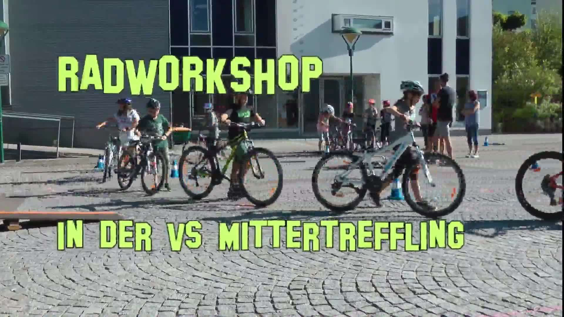 Radworkshop in der VS Mittertreffling