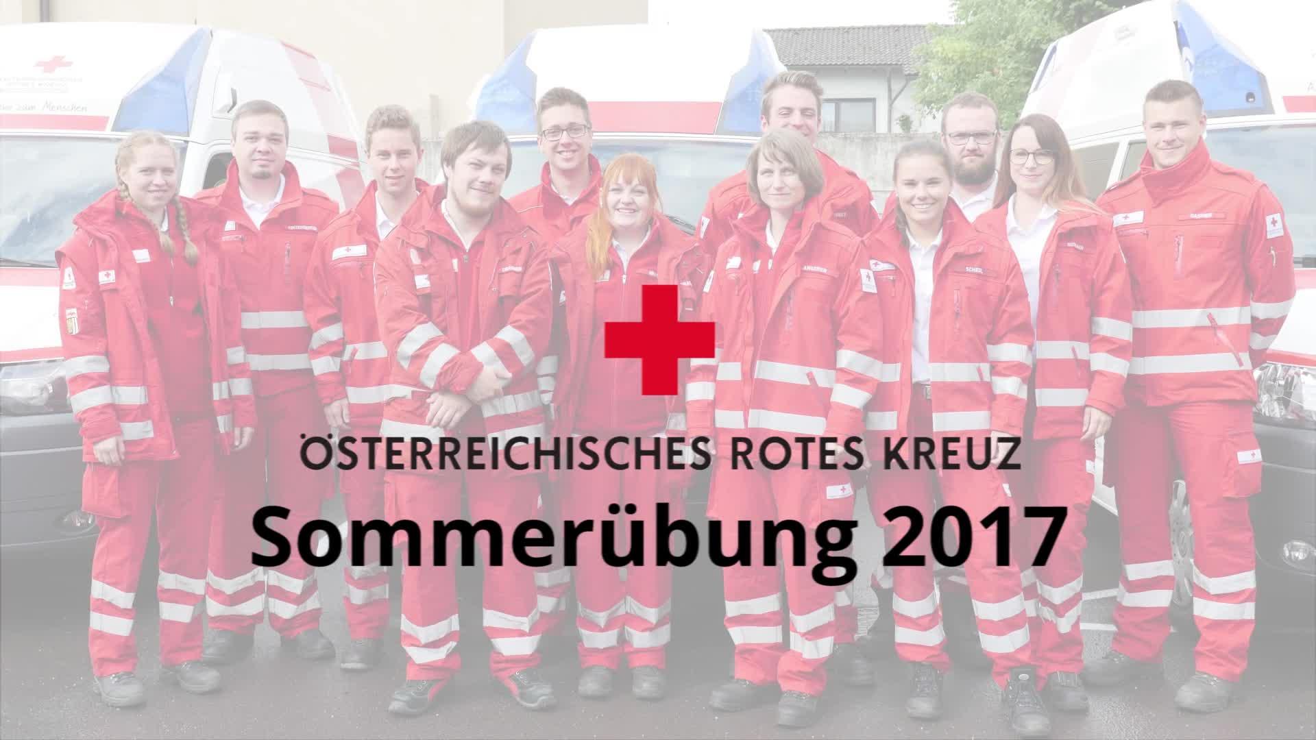 Sommerübung 2017 Rotes Kreuz Gallneukirchen
