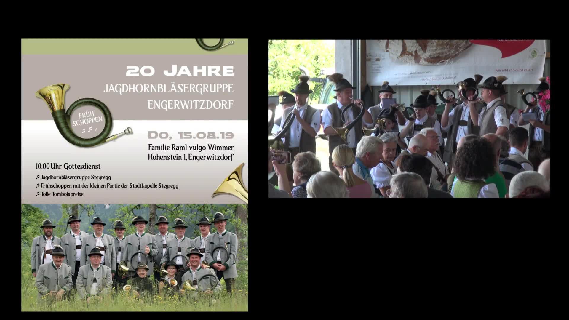 20 Jahre Jagdhornbläsergruppe Engerwitzdorf
