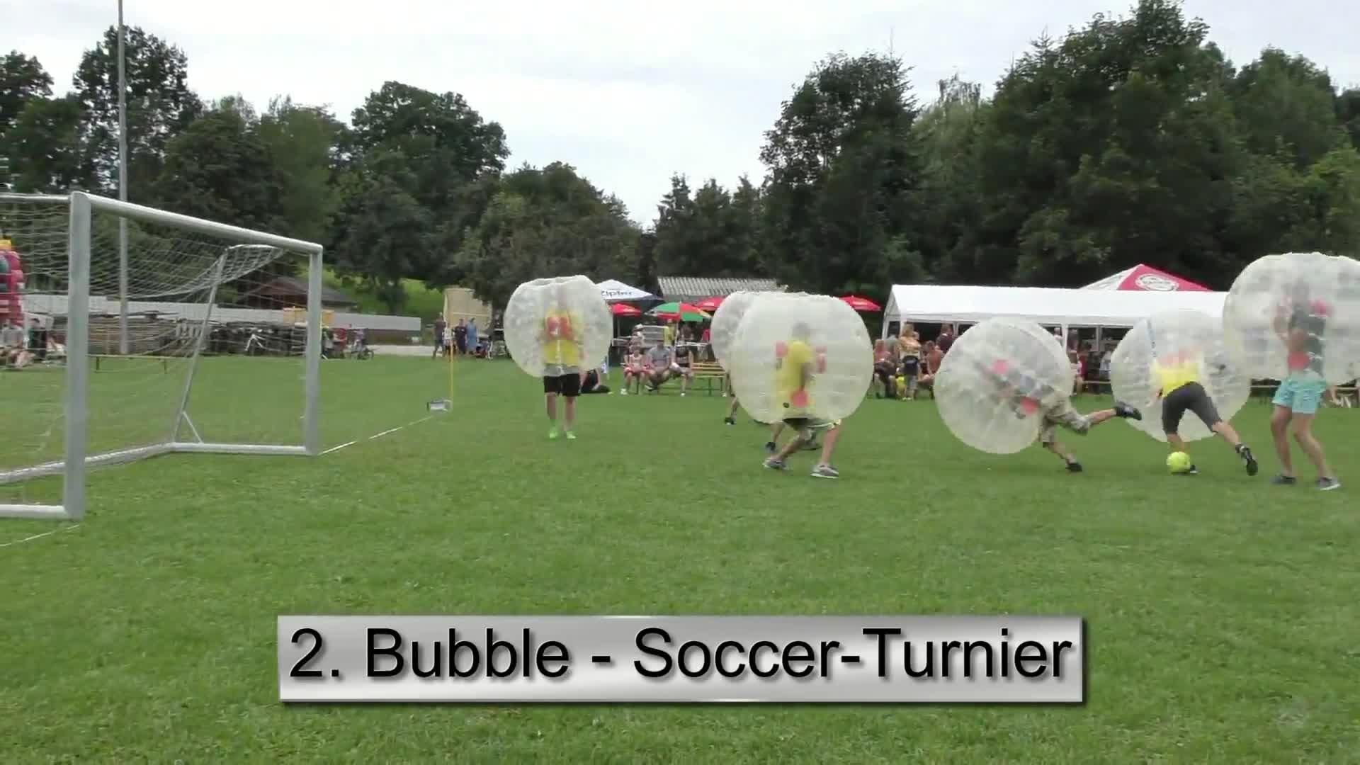 2. Bubble-Soccer Turnier