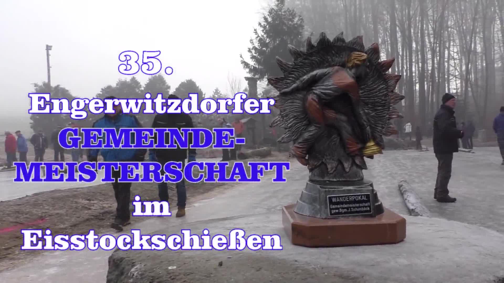 35. Gemeindemeisterschaft im Eisstockschießen