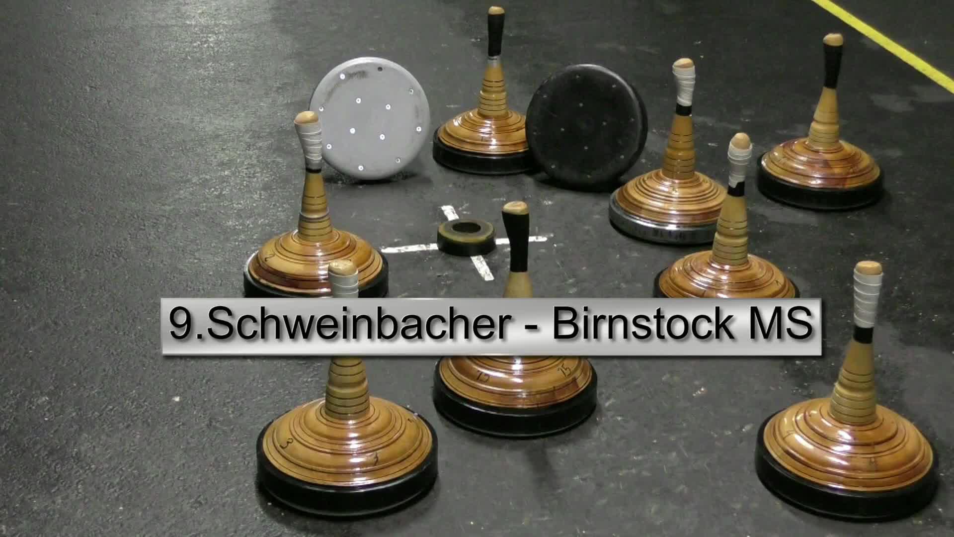 9. Schweinbacher Birnstock-Ortsmeisterschaft