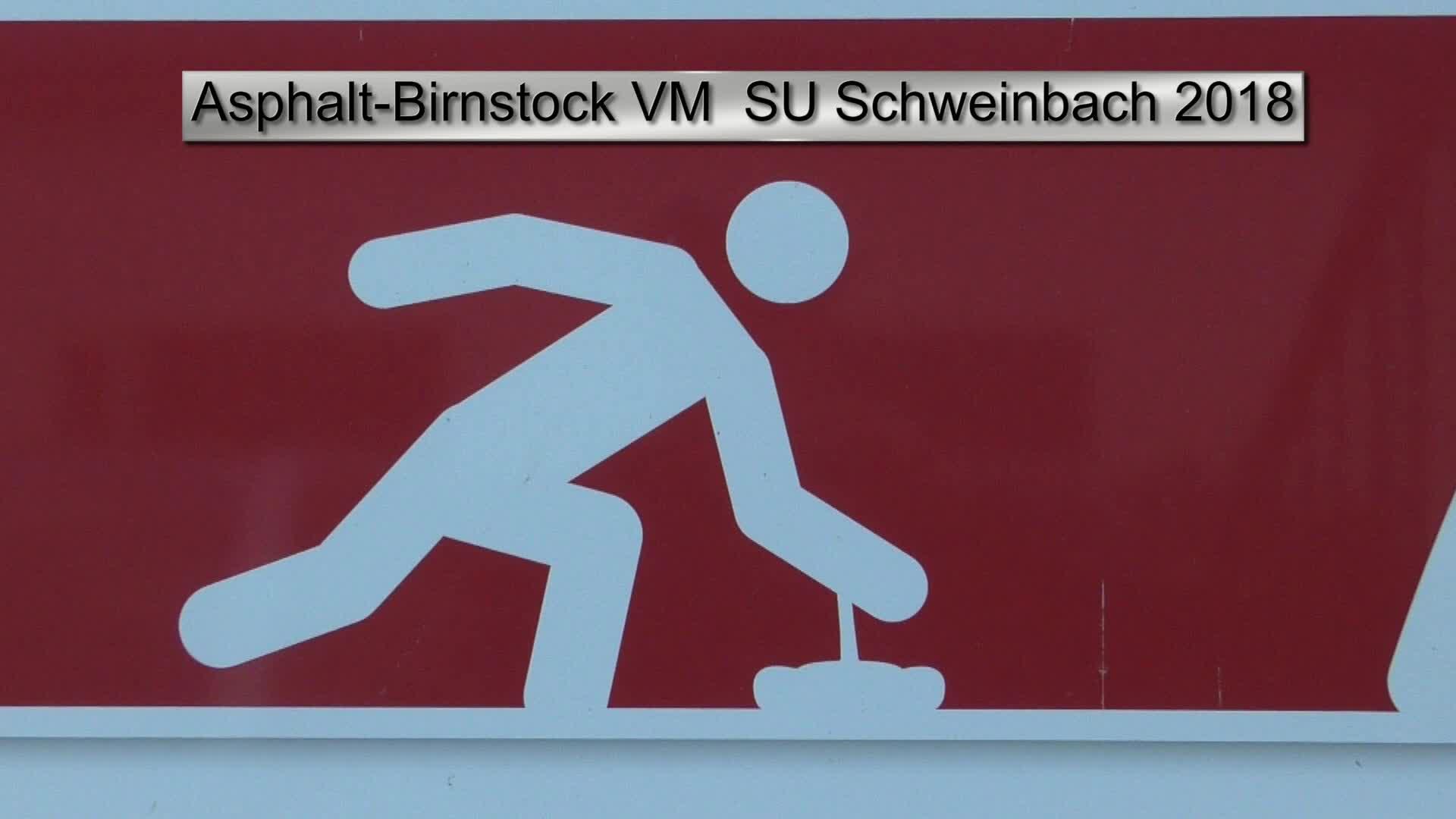 Asphalt-Birnstock VM SU Schweinbach