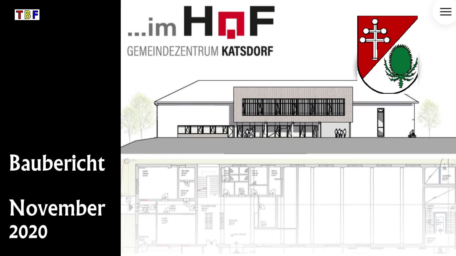 Baubericht Gemeindezentrum Katsdorf