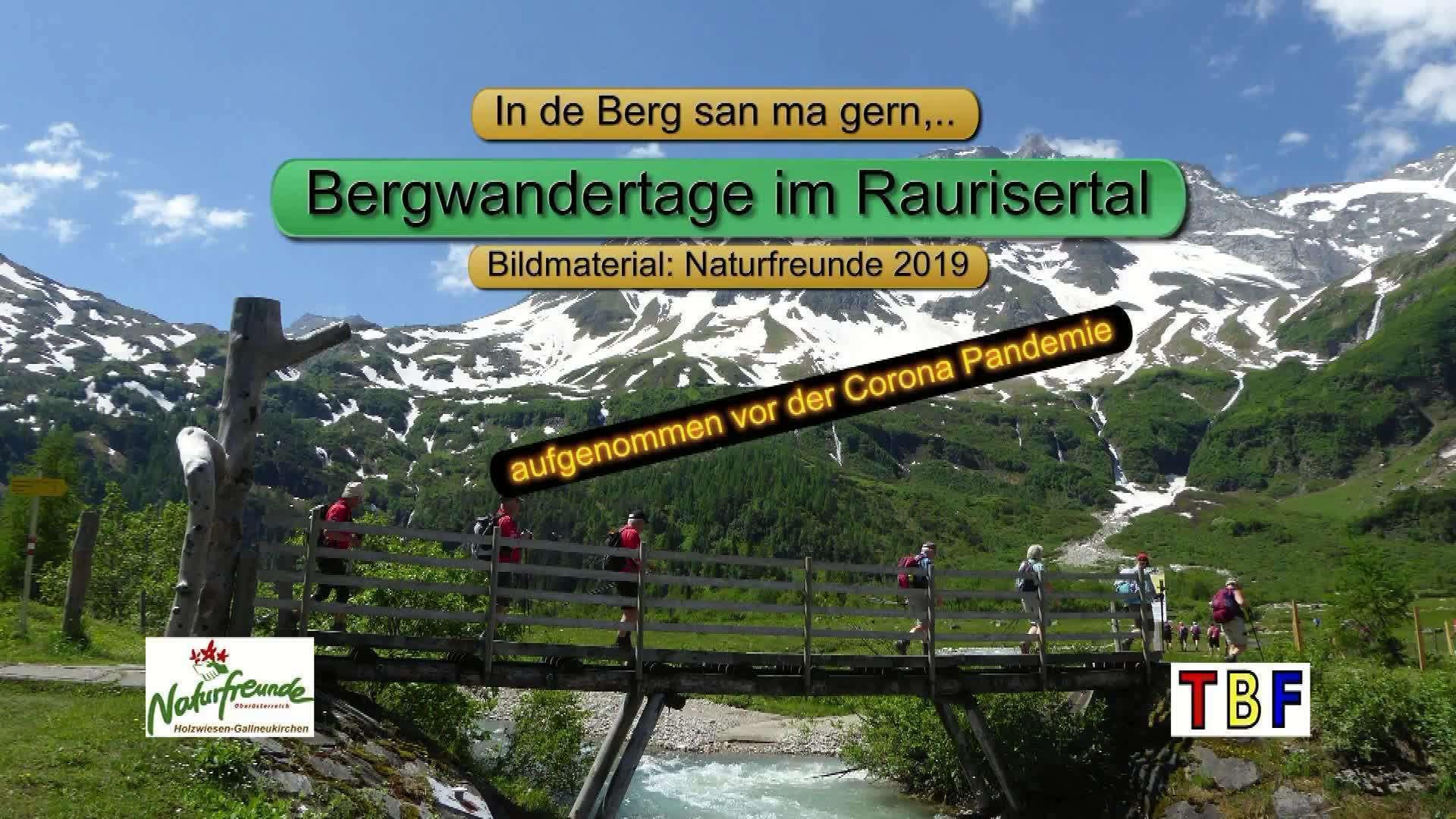 Bergwandertage in Rauris 2019