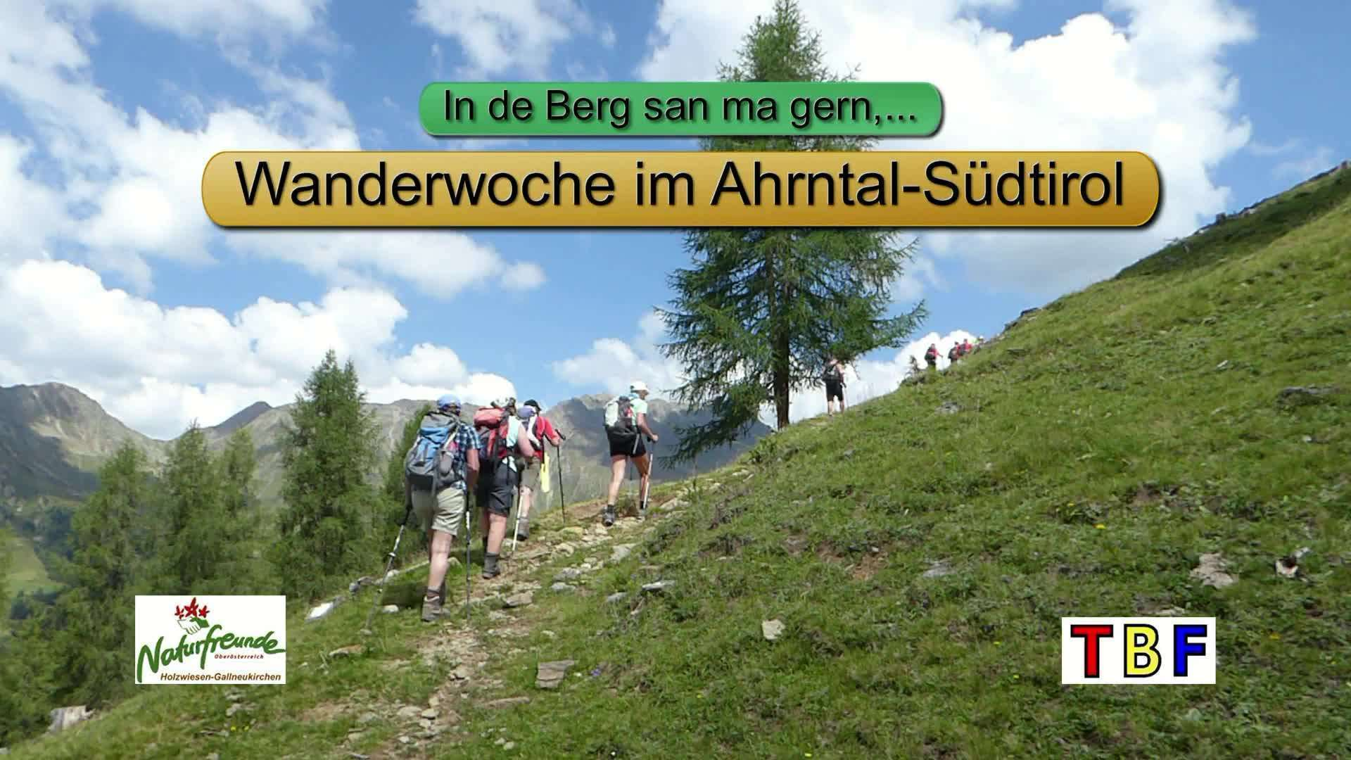 Bergwanderwoche im Ahrntal/Südtirol