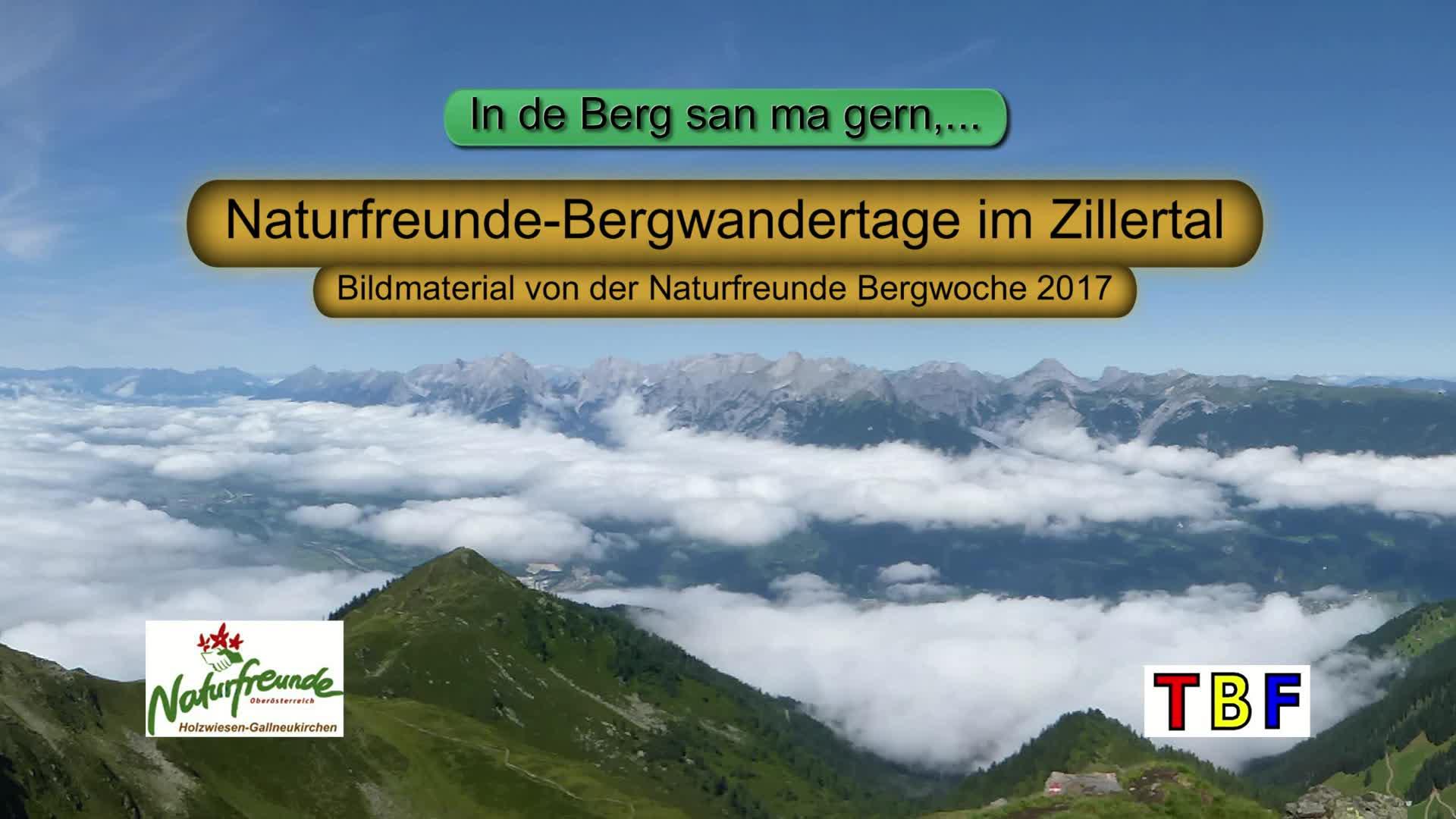 Bergwanderwoche im Zillertal