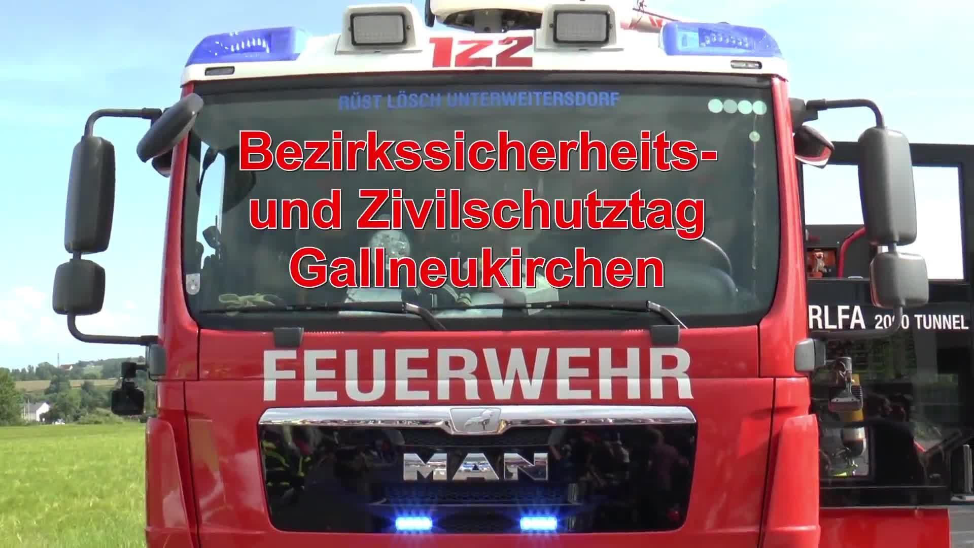 Bezirkssicherheits- u. Zivilschutztag Gallneukirchen