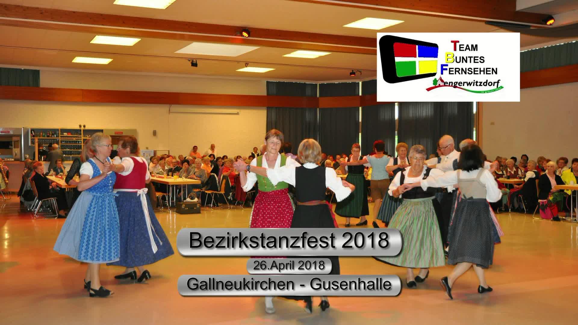 Bezirkstanzfest 2018