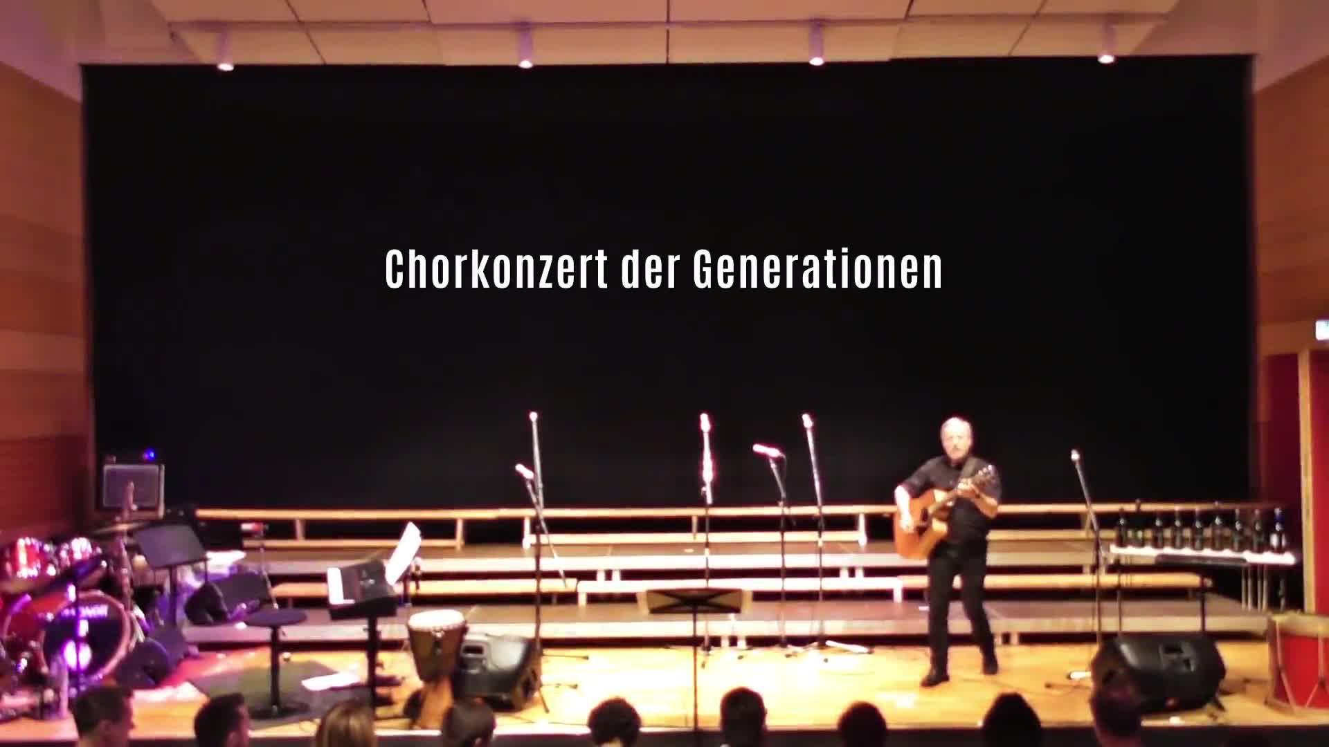 Chorkonzert der Generationen
