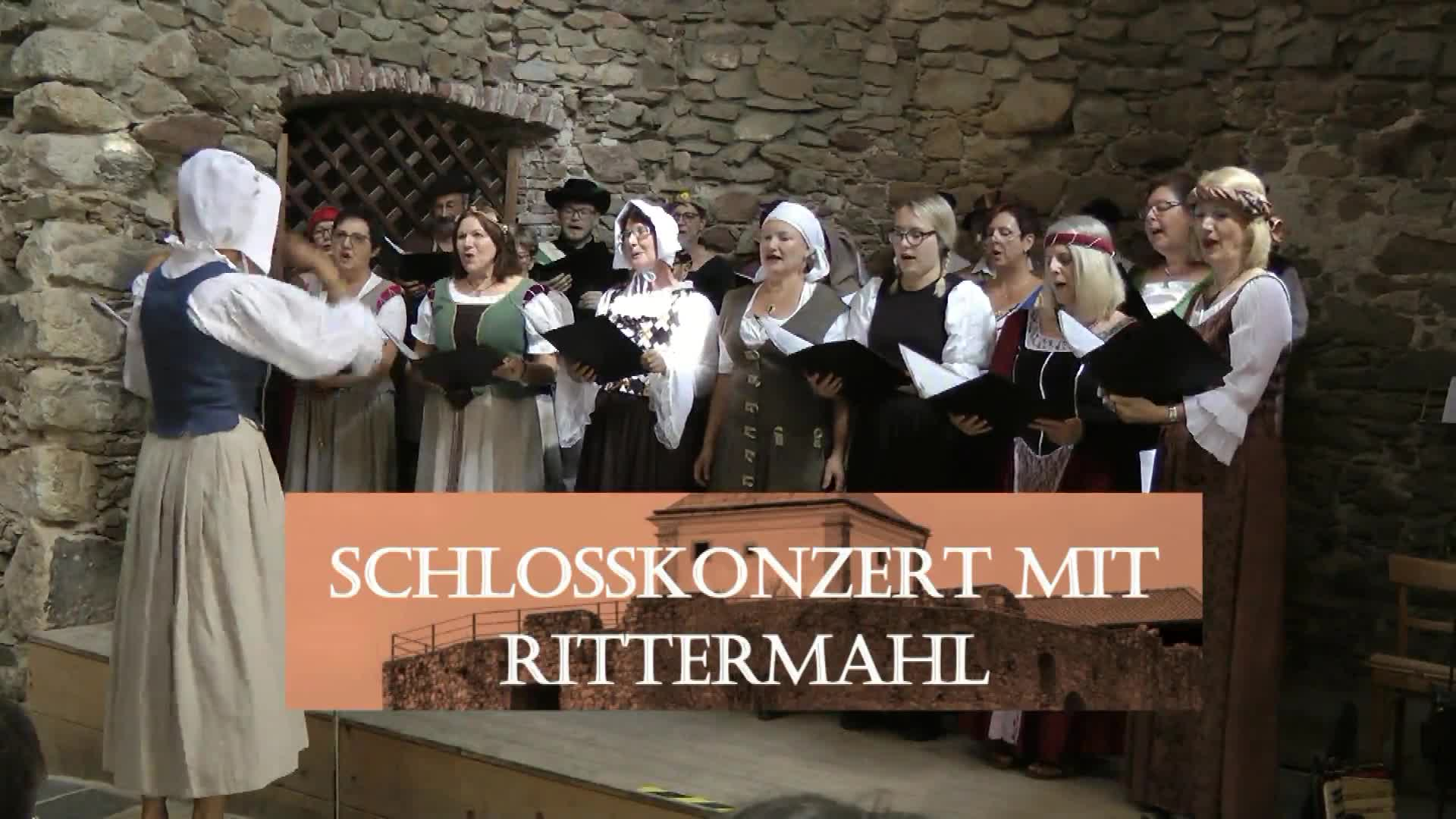 Schlosskonzert mit Rittermahl