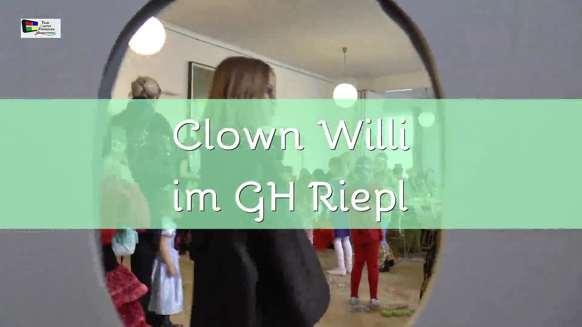 Clown Willi im Gasthaus Riepl