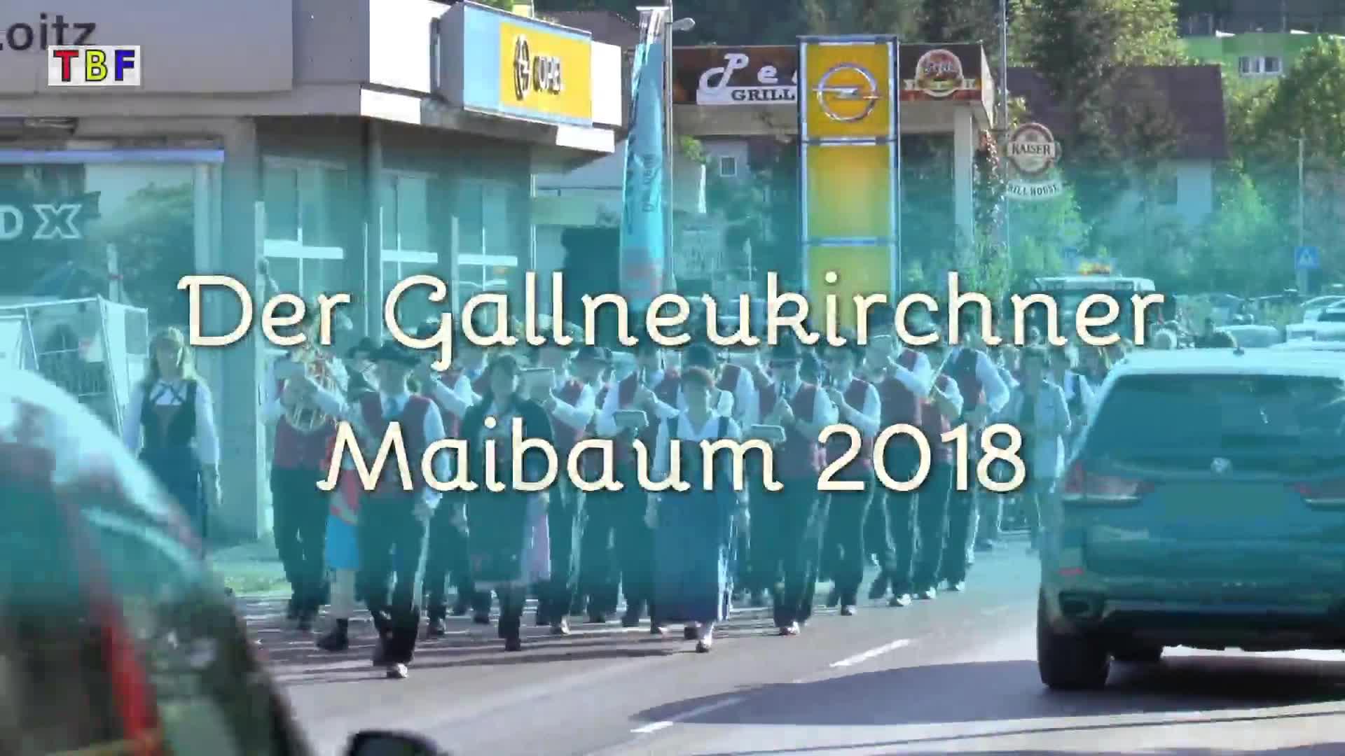 Der Gallneukirchner Maibaum 2018