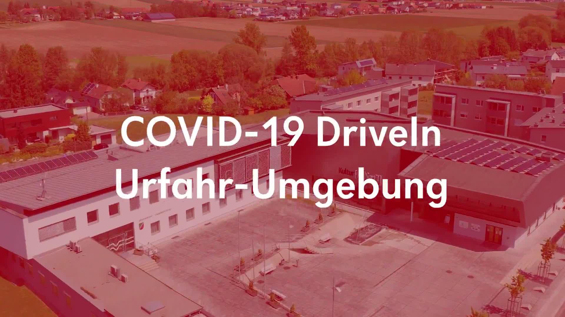 COVID-19 DriveIn in Engerwitzdorf