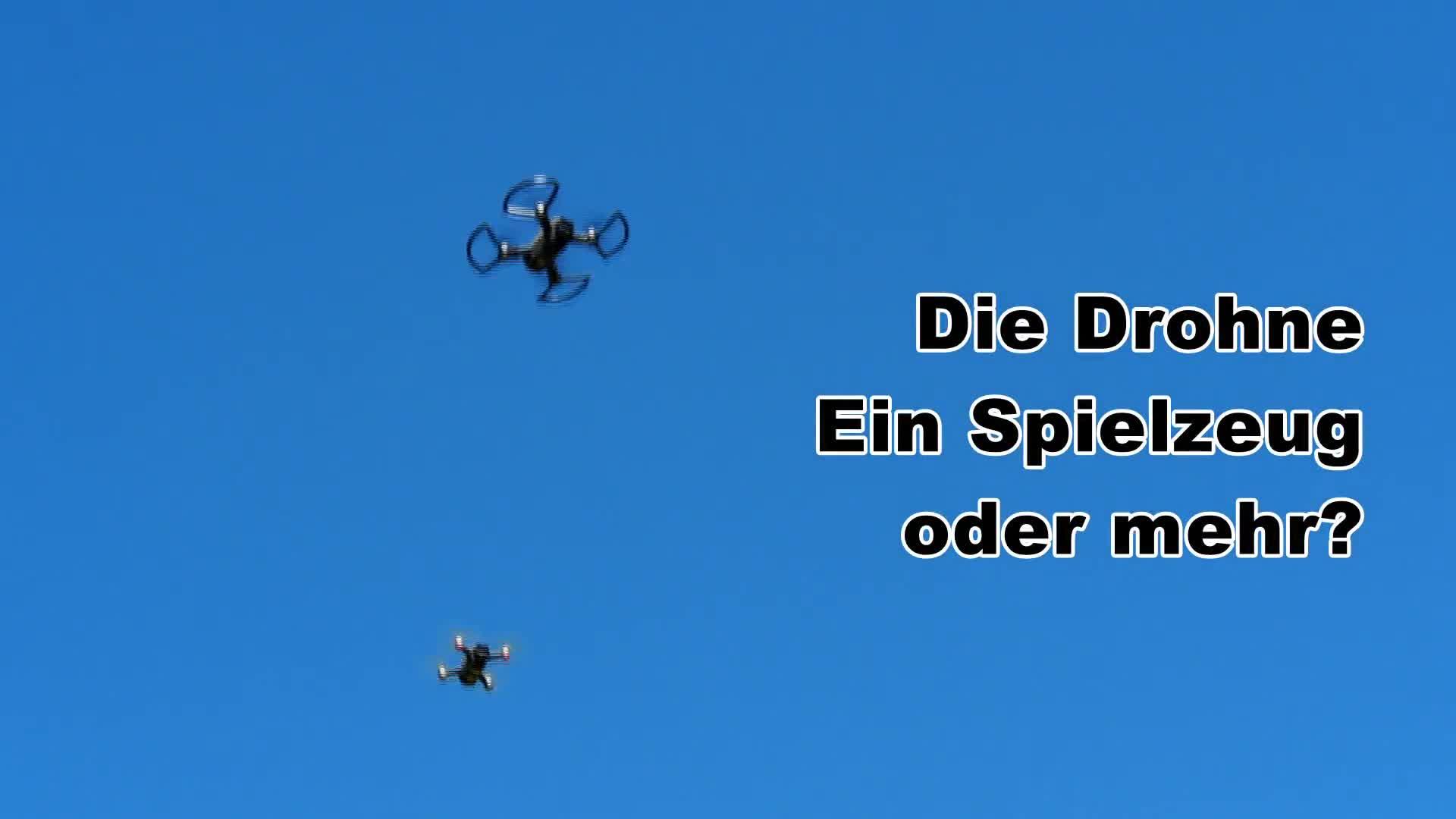 Die Drohne - ein Spielzeug oder mehr