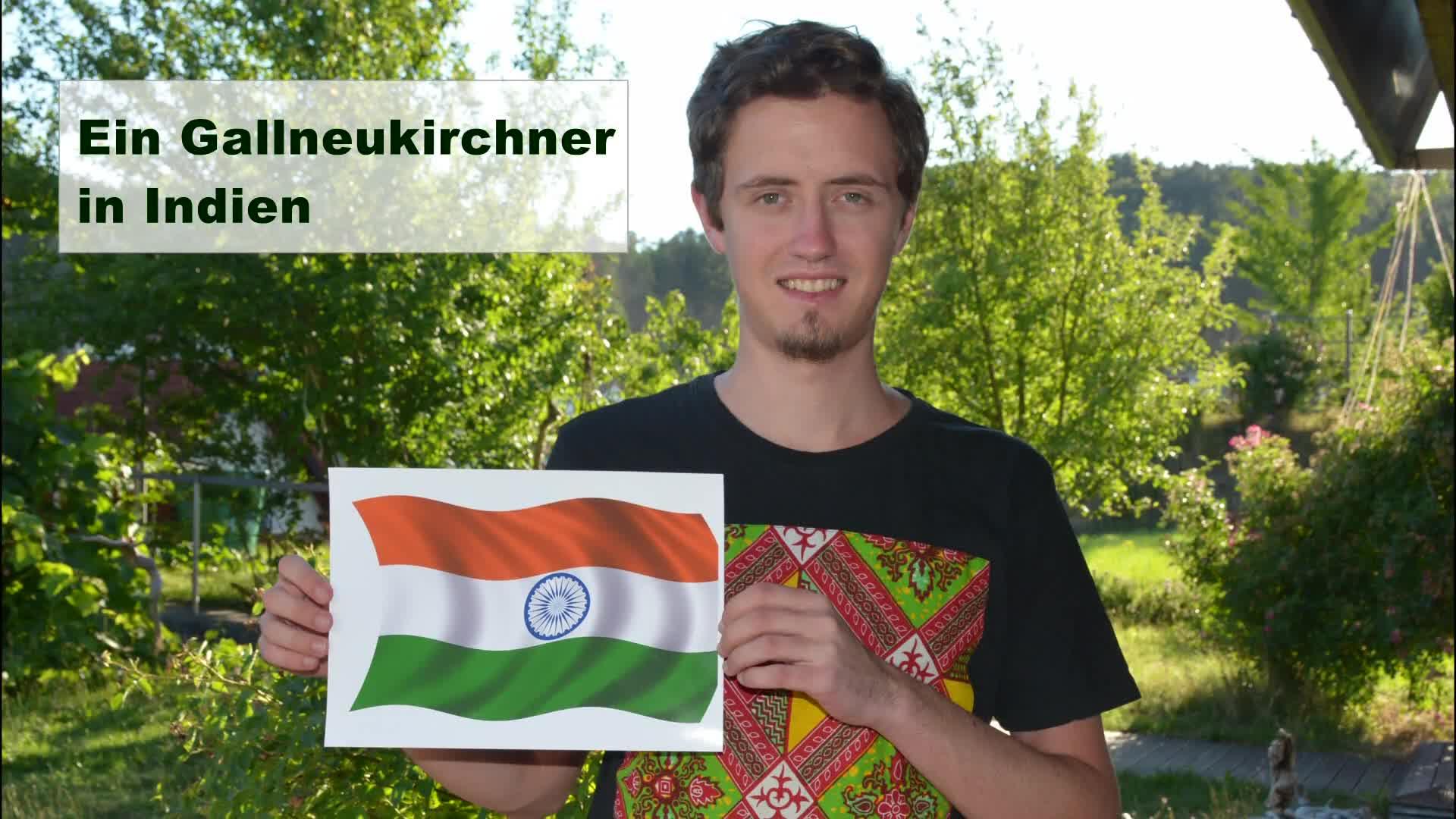 Ein Gallneukirchner in Indien