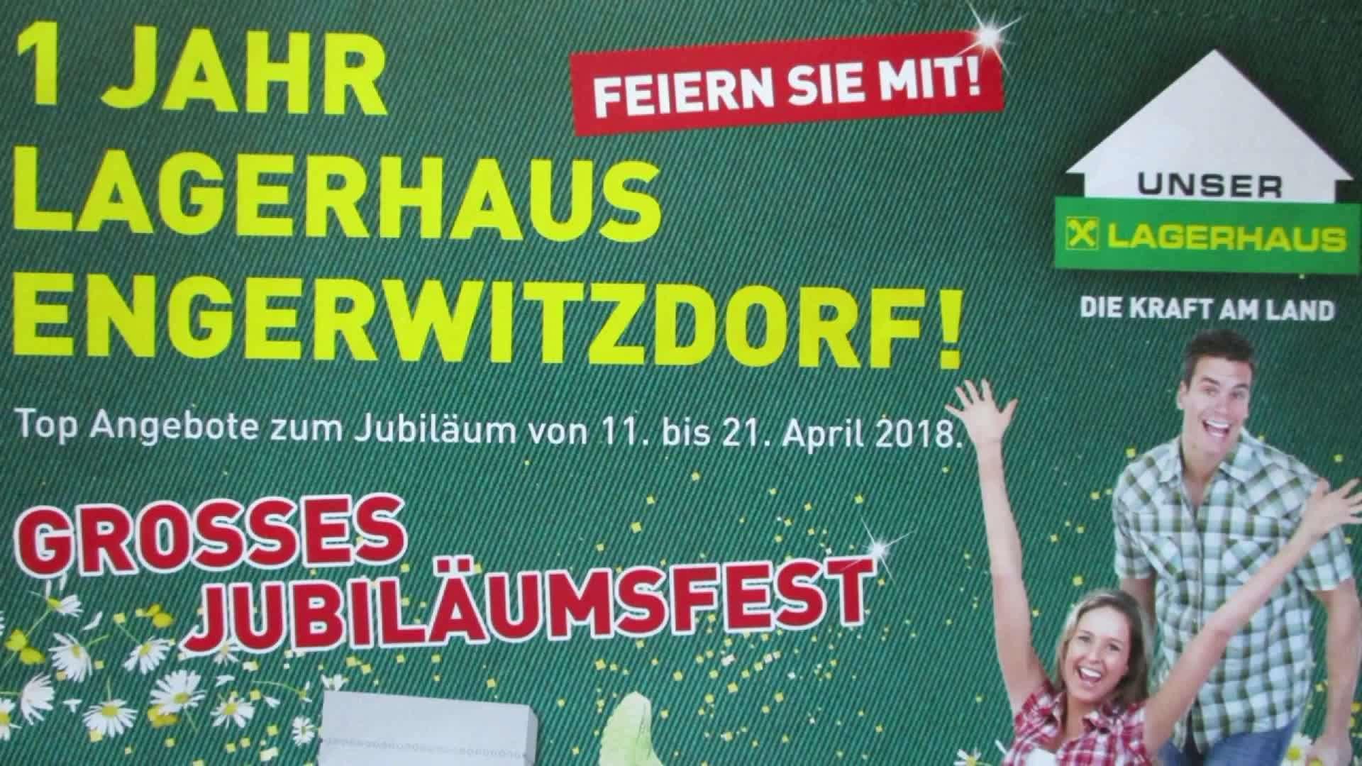 Ein Jahr - Lagerhaus in Engerwitzdorf!