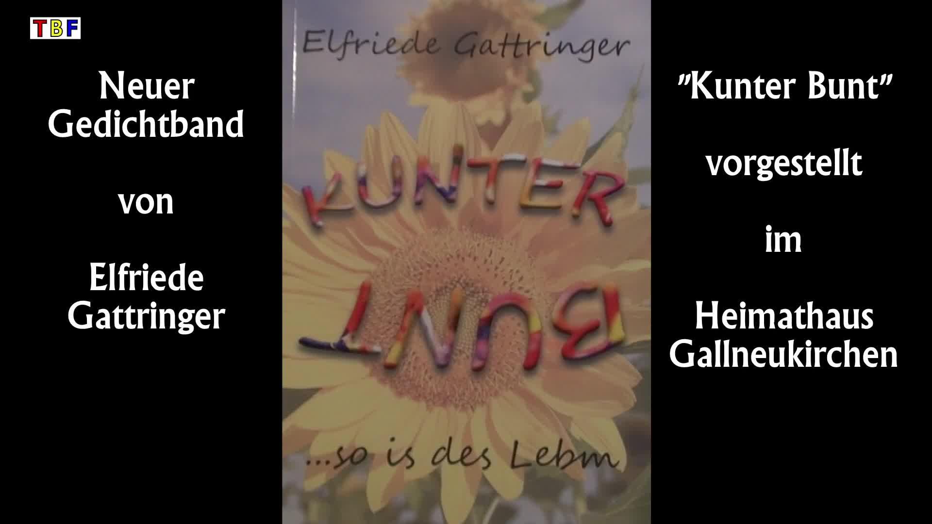 Elfriede Gattringers Gedichtband