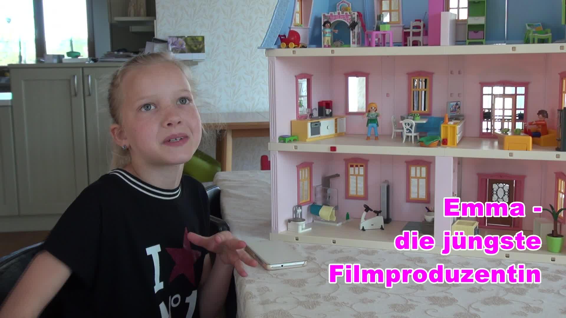 Emma, die jüngste Filmproduzentin