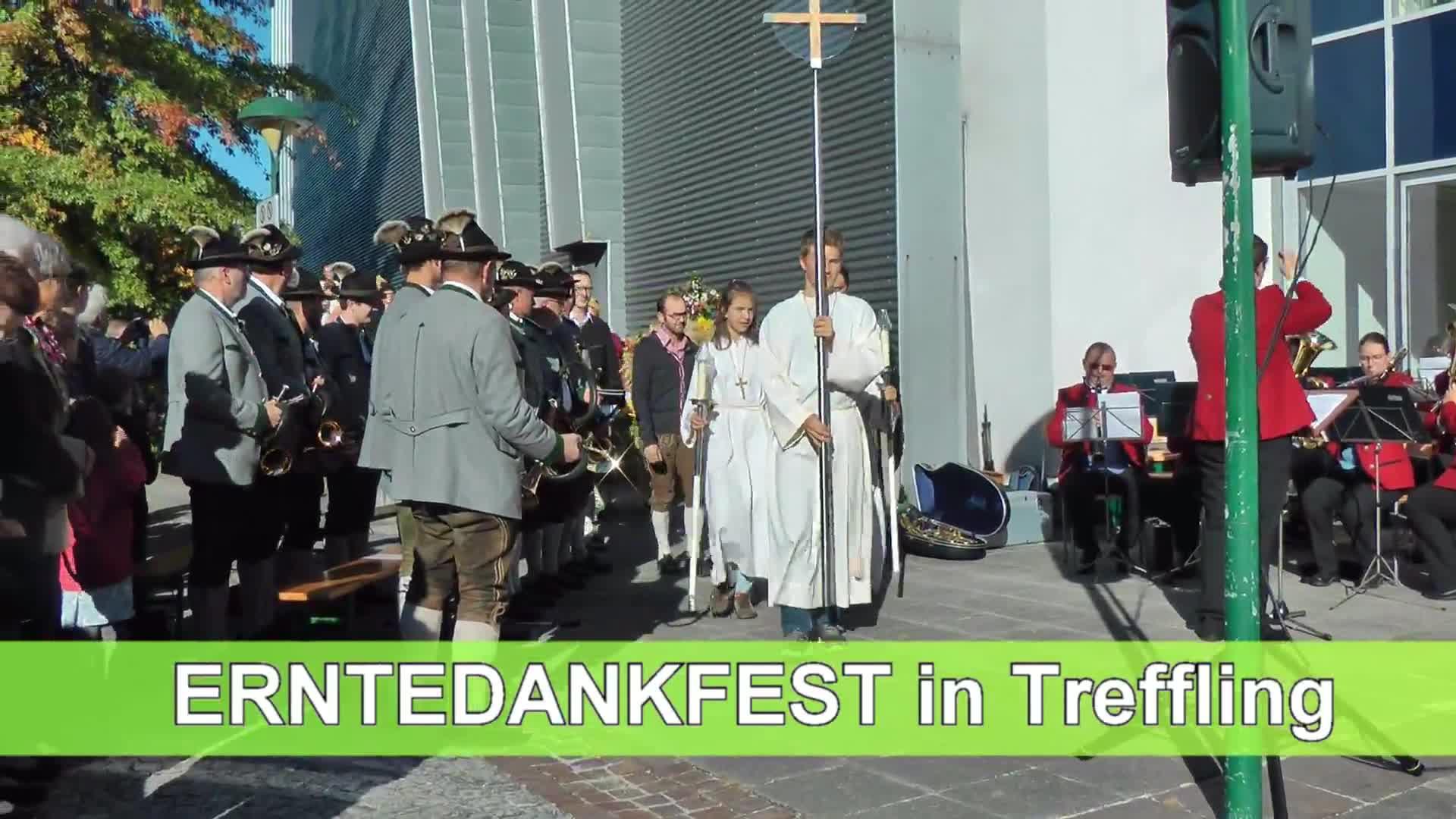 Erntedankfest in Treffling