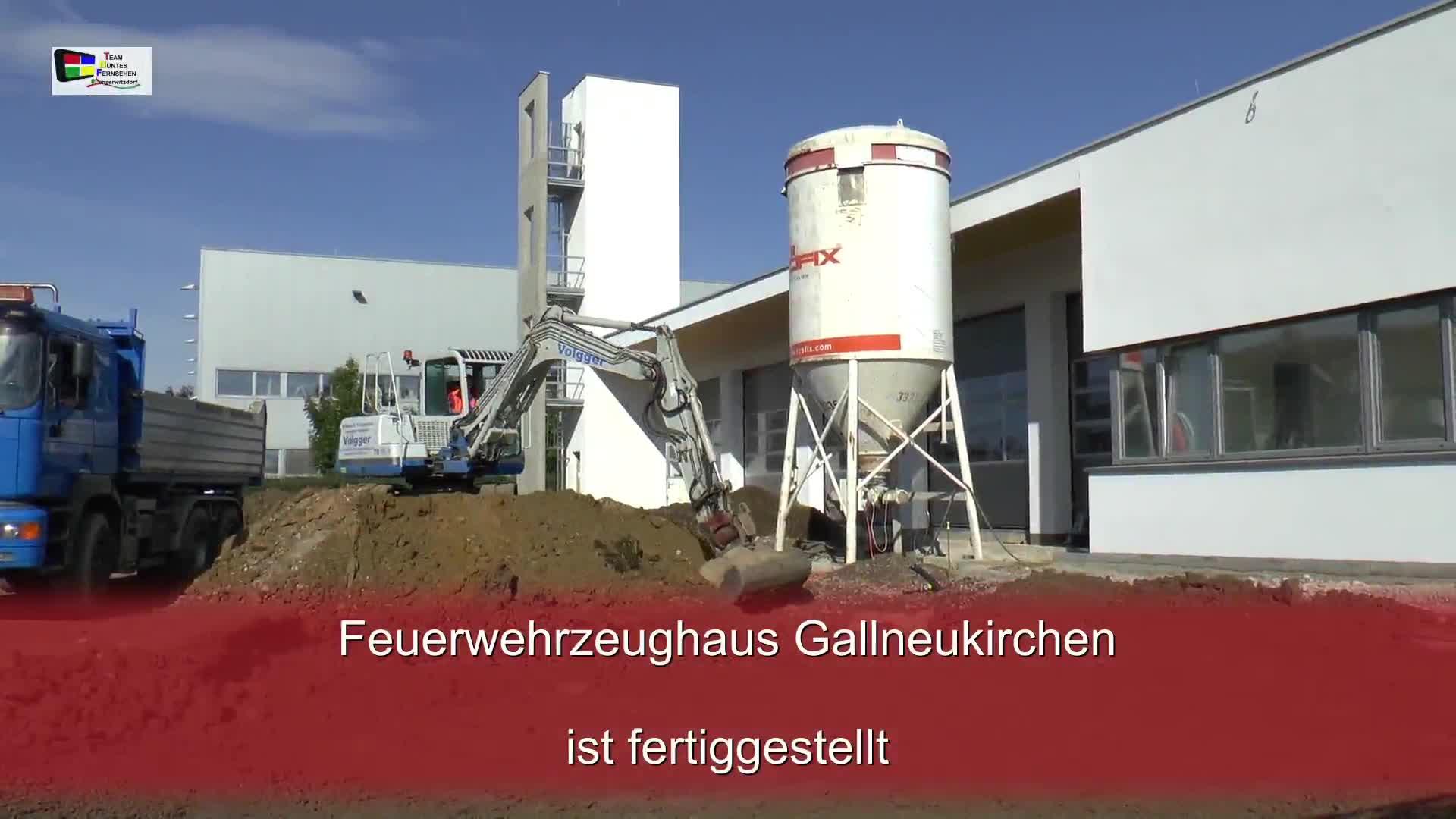 Feuerwehrzeughaus Gallneukirchen ist fertiggestellt
