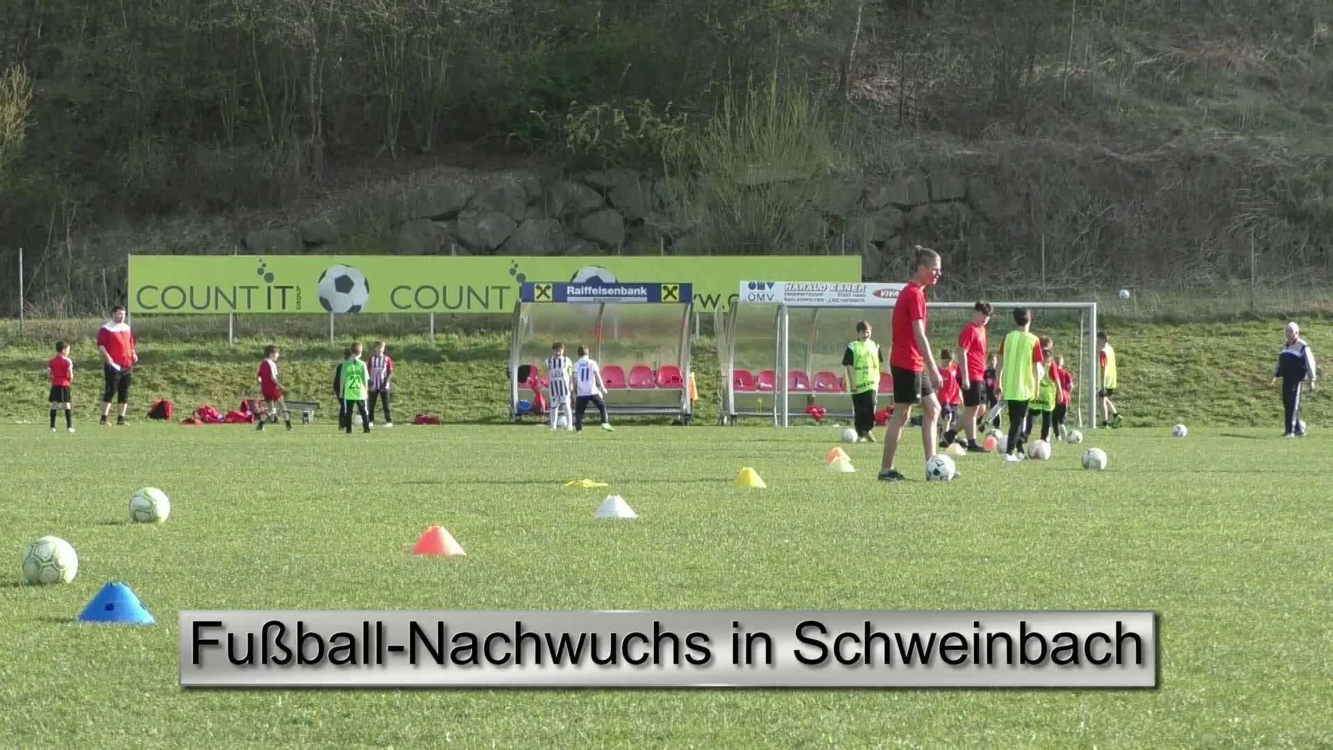 Fußball-Nachwuchs in Schweinbach