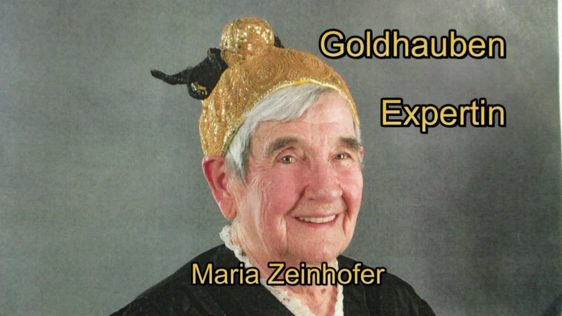 Goldhauben - Expertin Maria Zeinhofer