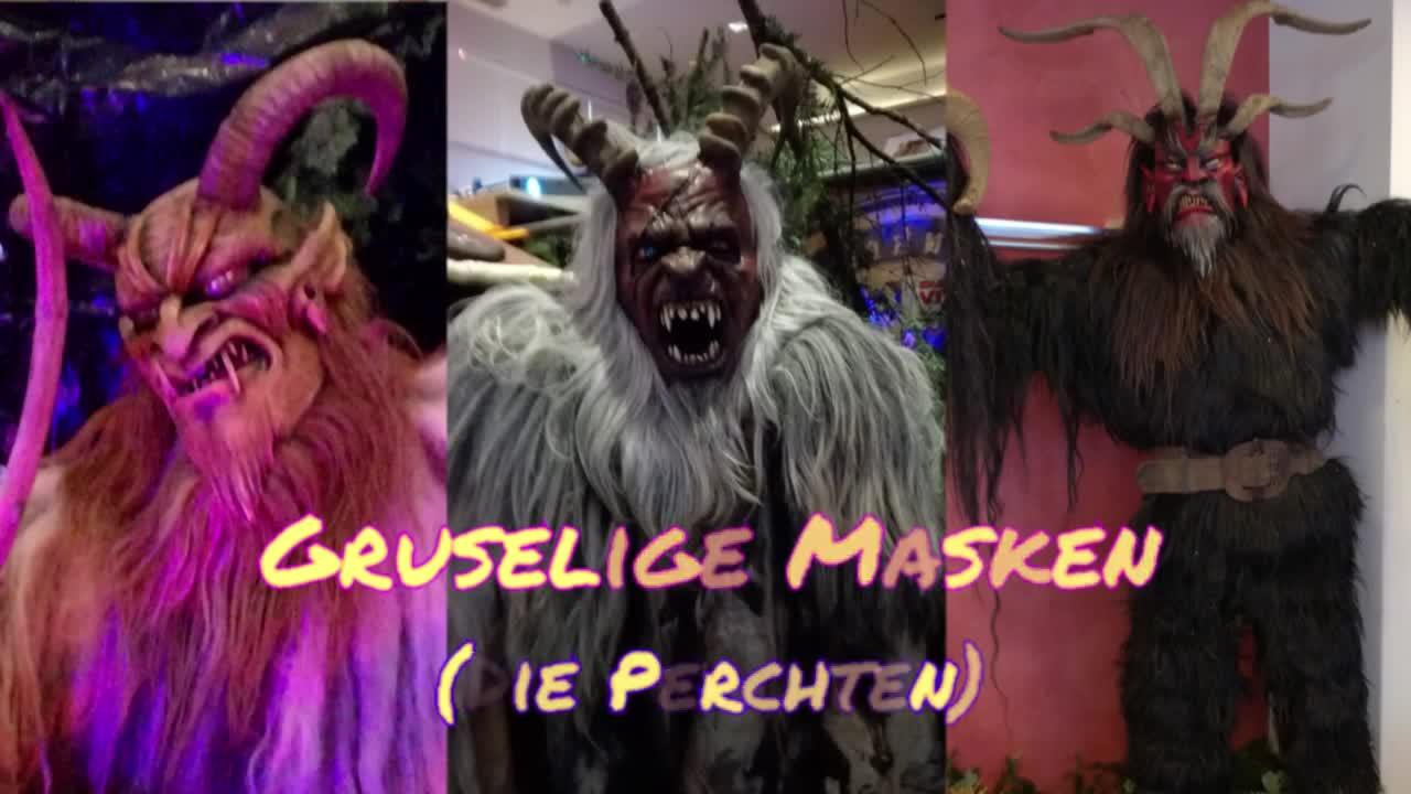 Gruselige Masken
