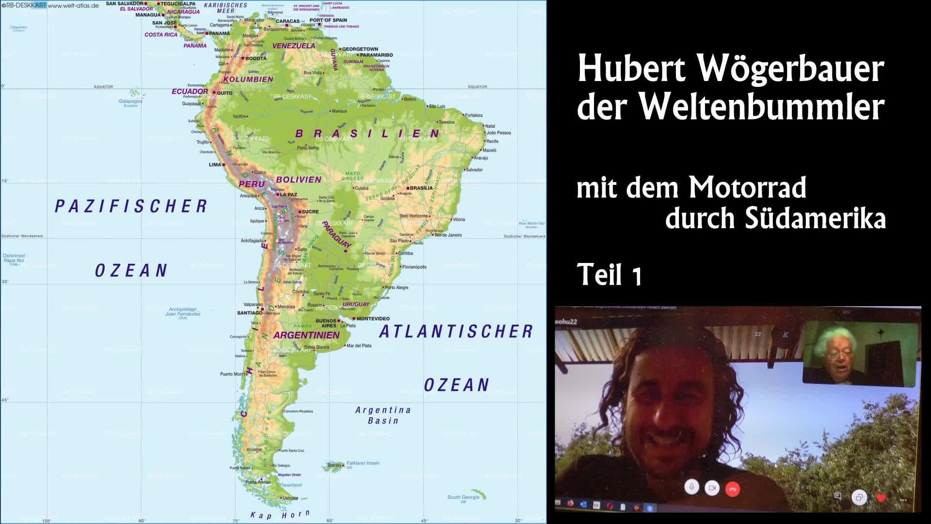 Hubert Wögerbauer der Weltenbummler Teil 1