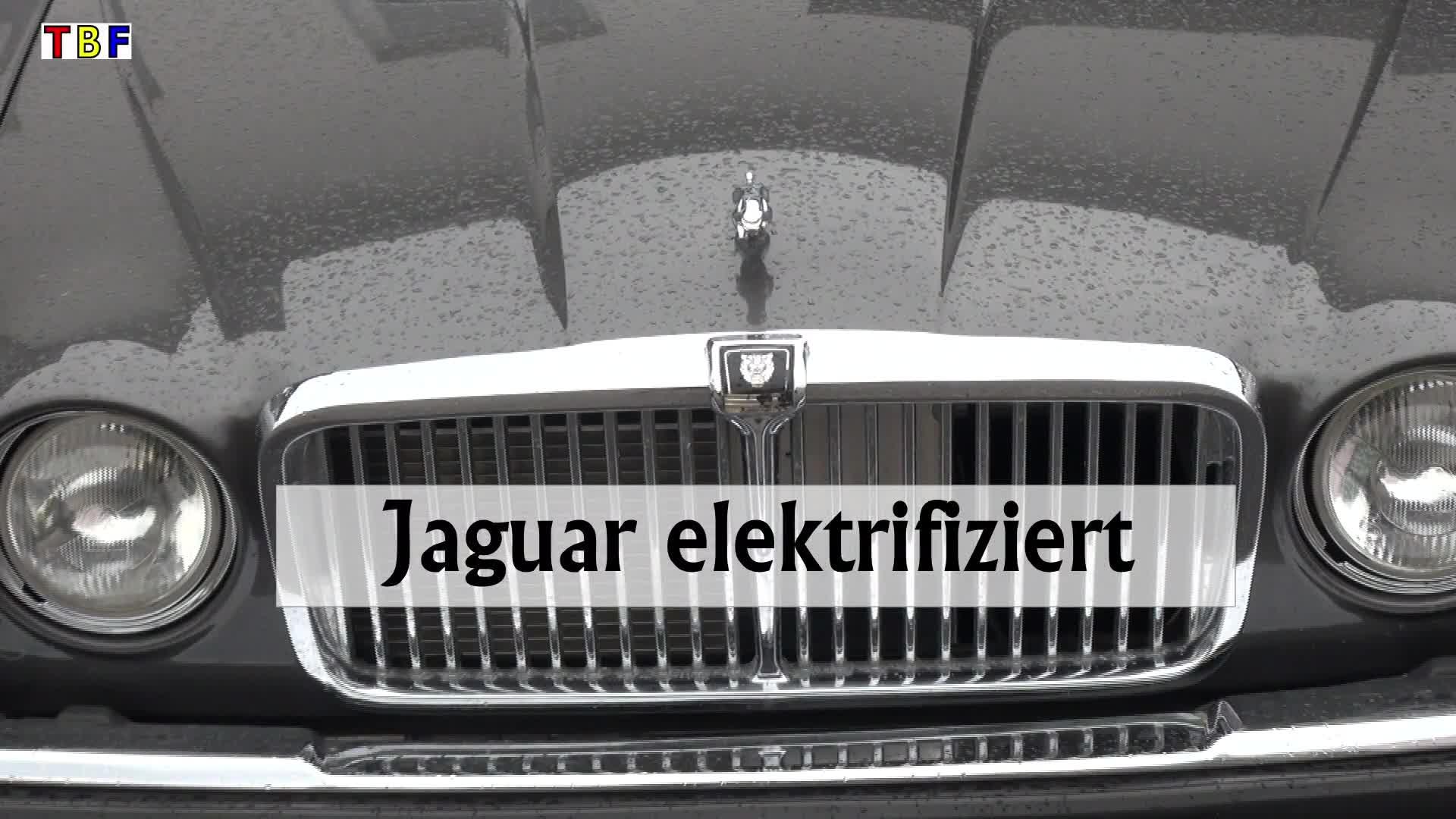 Jaguar elektrifiziert