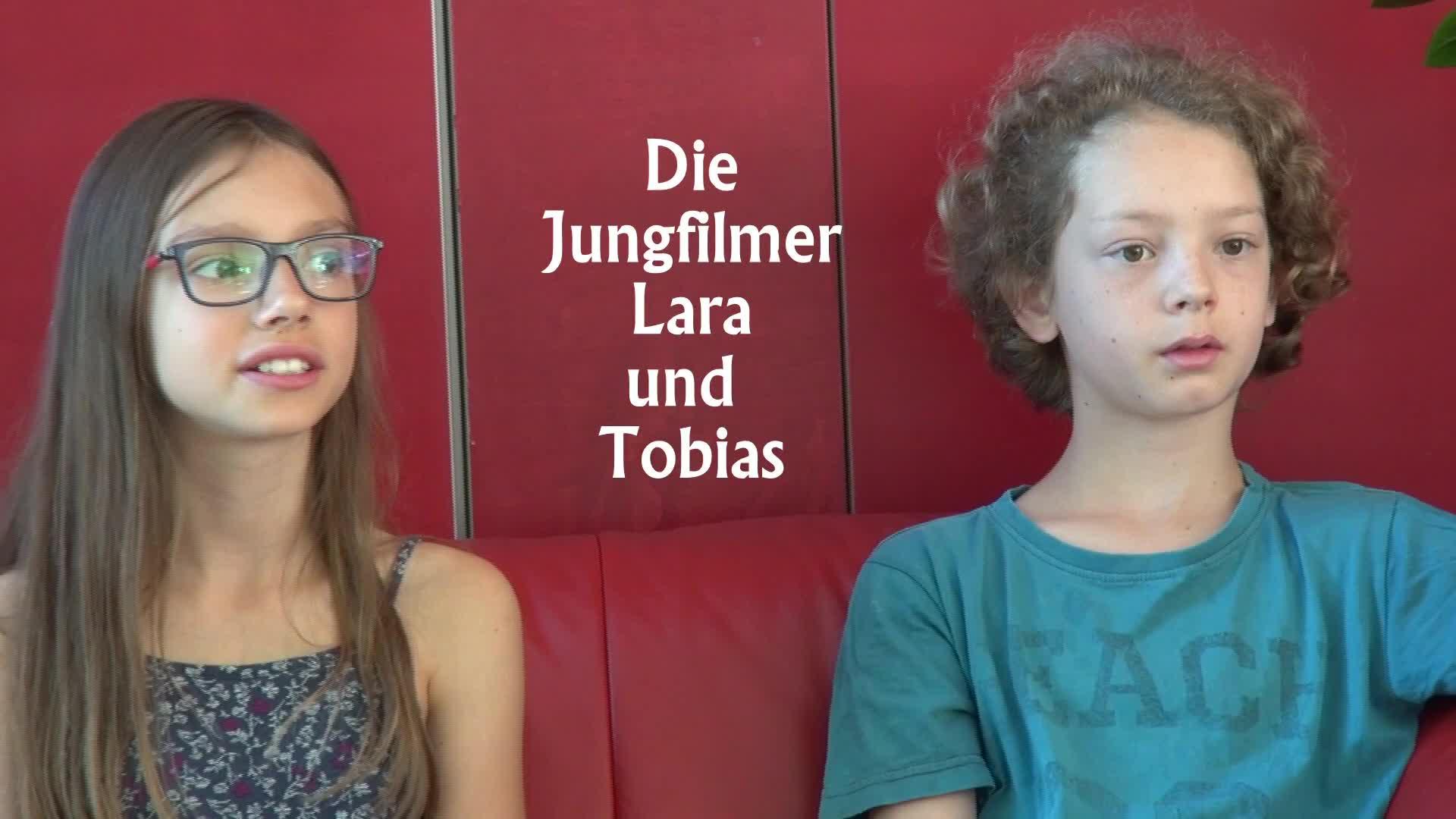 Jungfilmer Lara und Tobias