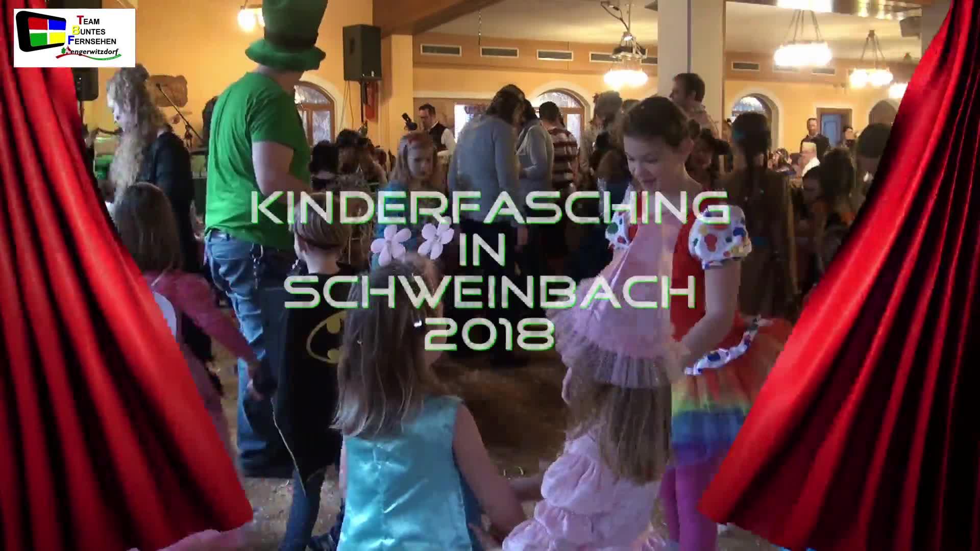 Kinderfasching in Schweinbach 2018