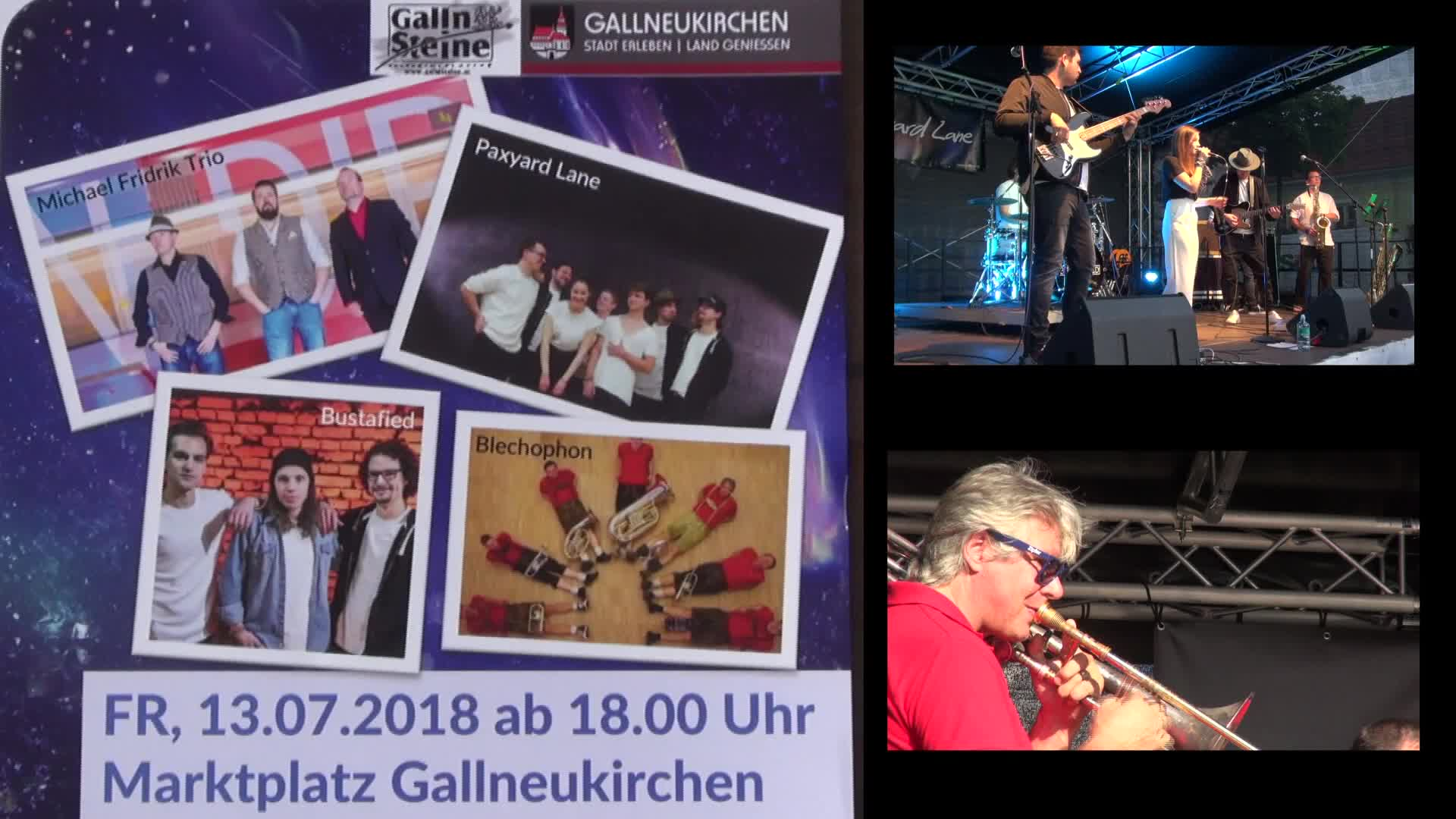 Klangplatz - Marktplatz Gallneukirchen