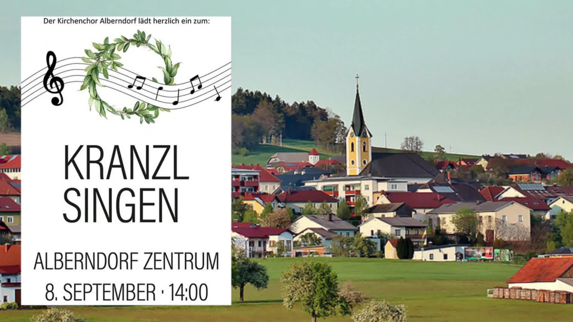 Kranzlsingen in Alberndorf