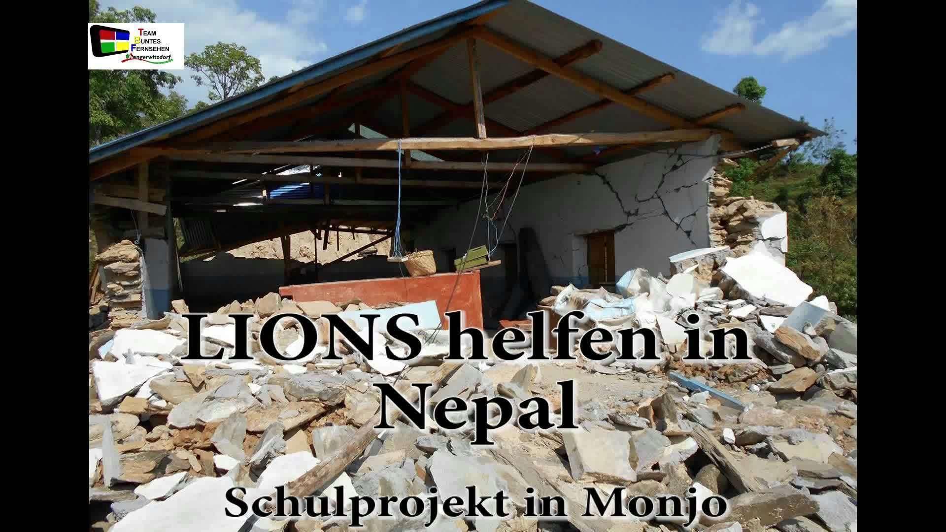 Lions helfen in Nepal