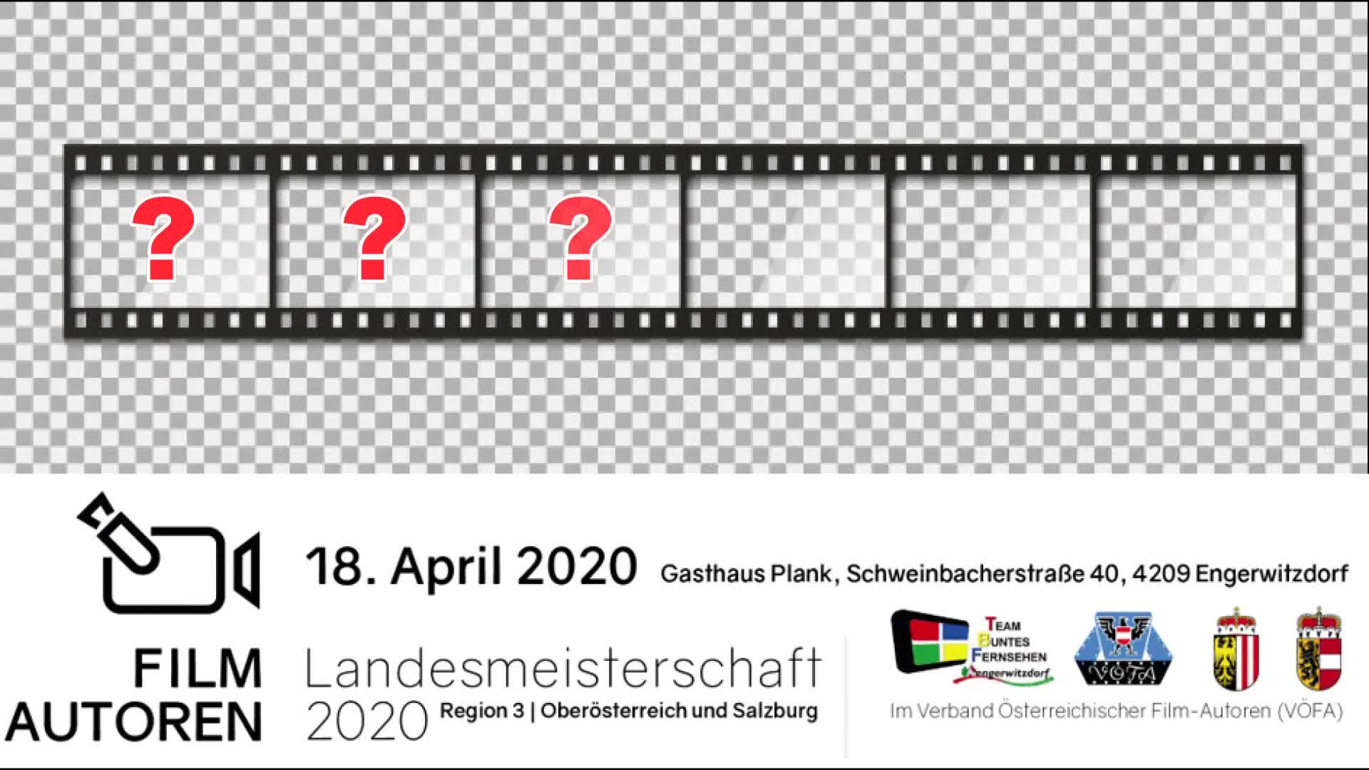 Absage Amateurfilm Landesmeisterschaft 2020