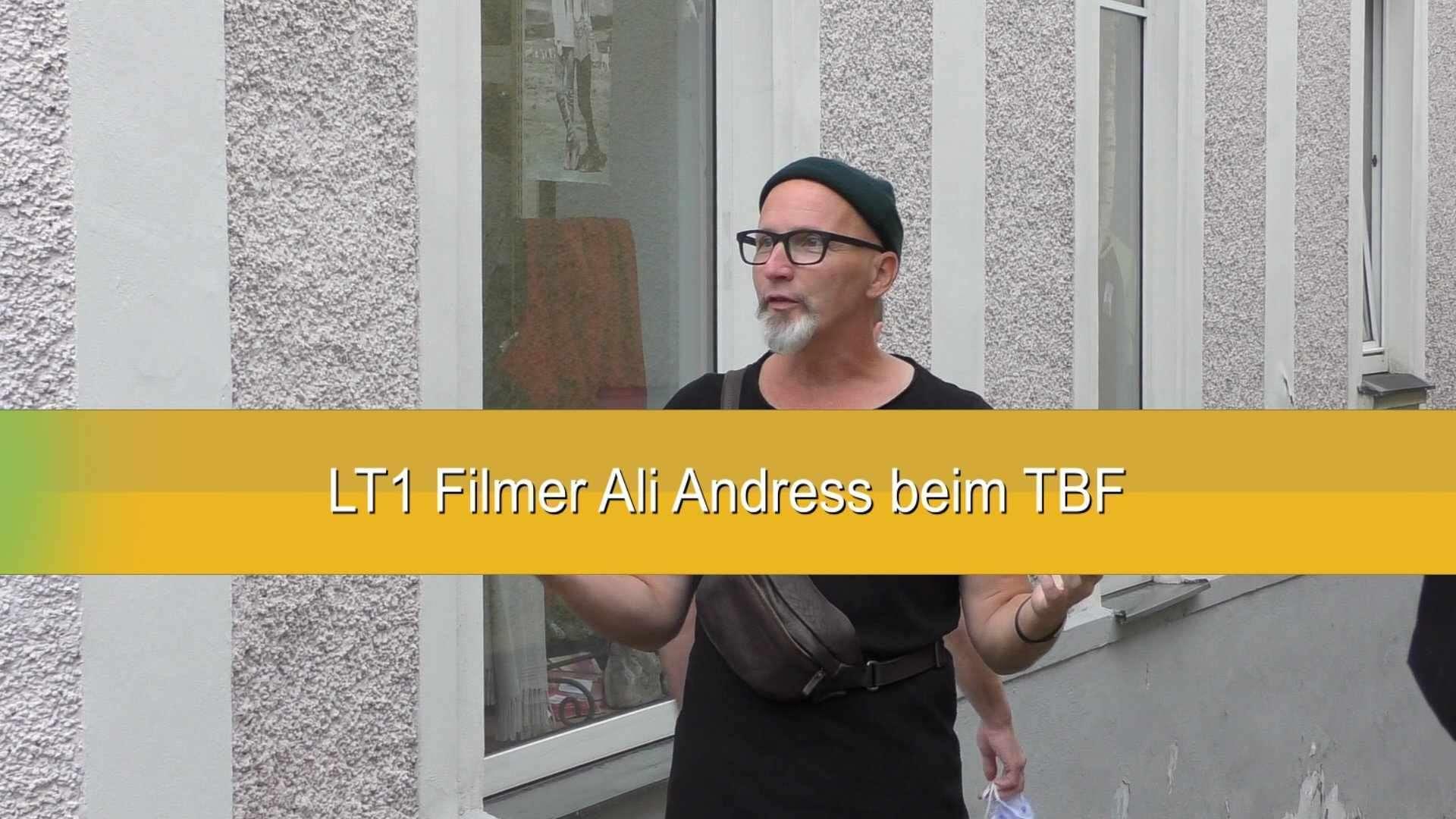 LT1 Filmer Ali Andress, beim TBF