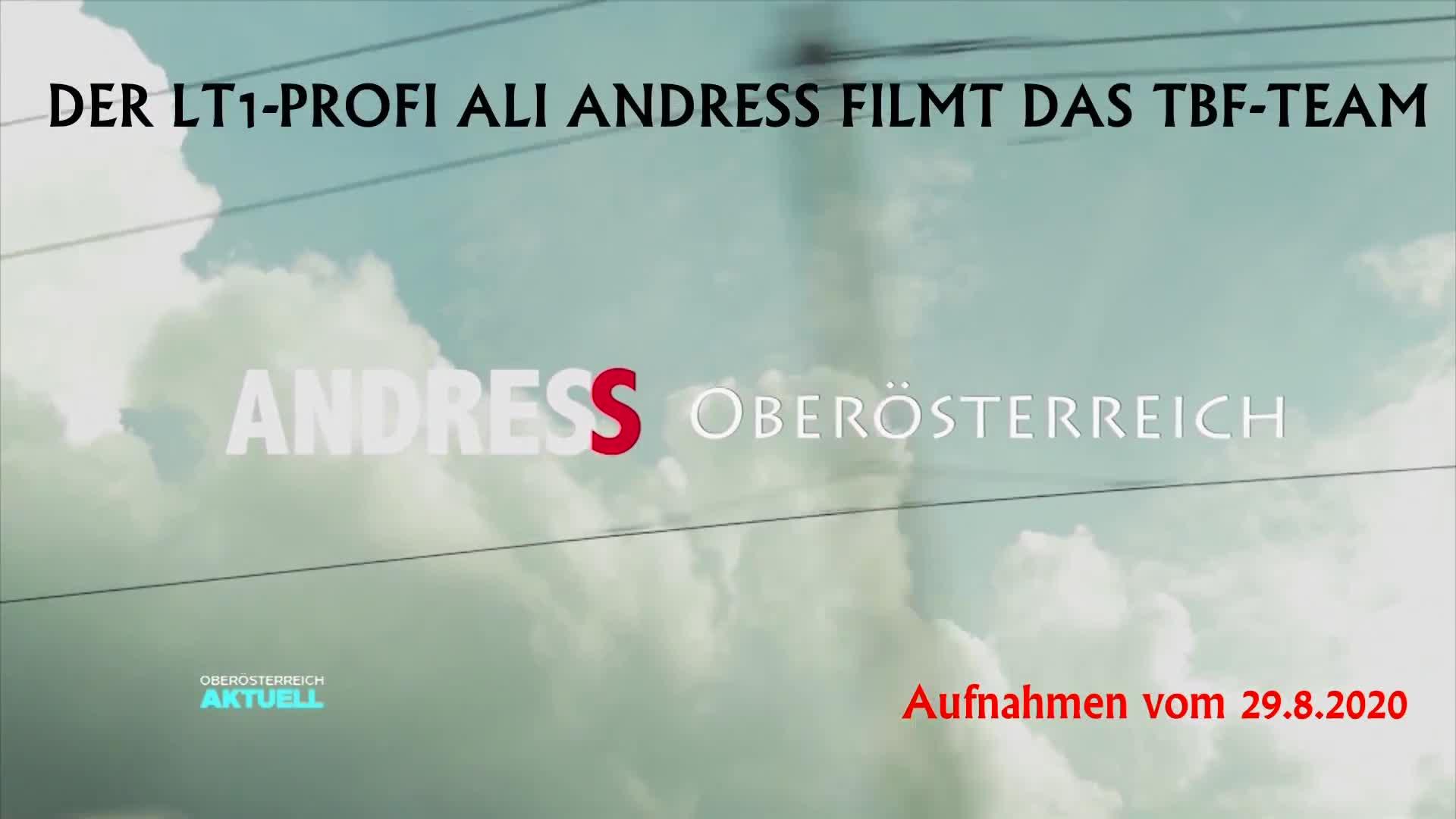 LT1-Profi Ali Andress filmt das TBF-Team