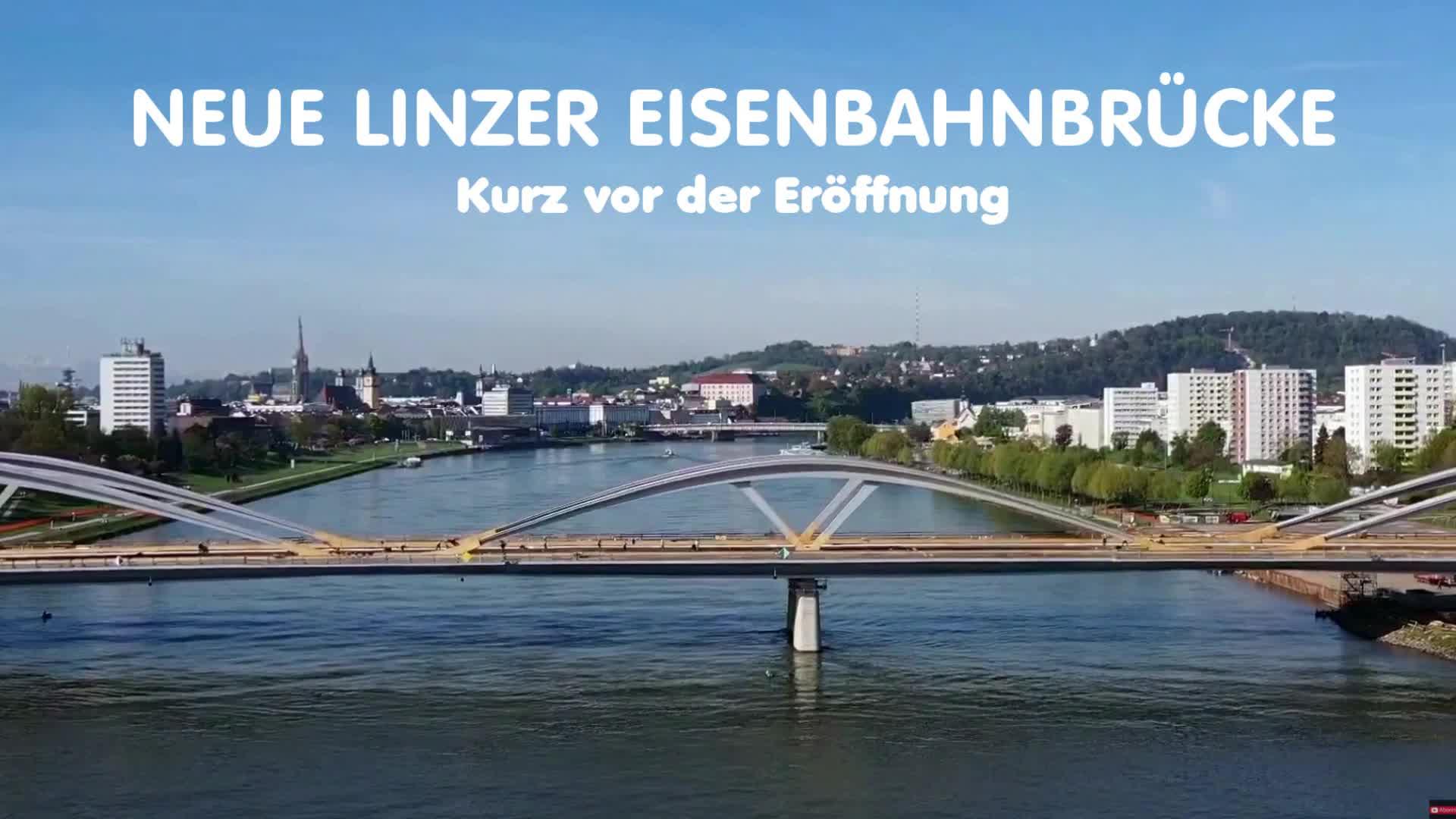 Neue Linzer Eisenbahnbrücke