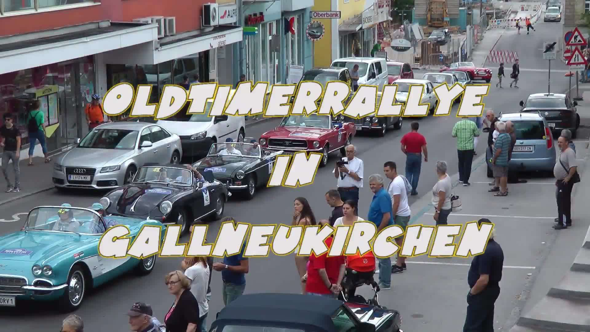 Oldtimerrallye in Gallneukirchen
