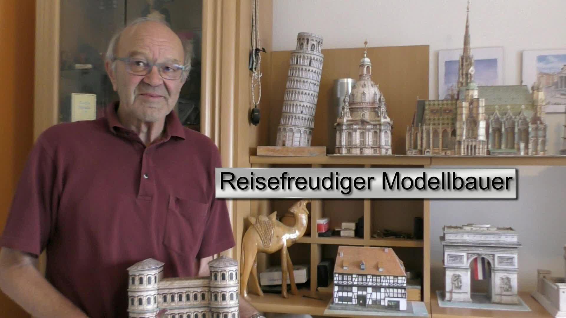 Reisefreudiger Modellbauer