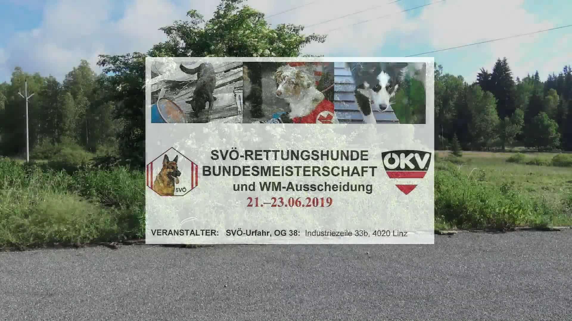 Rettungshunde Bundesmeisterschaft