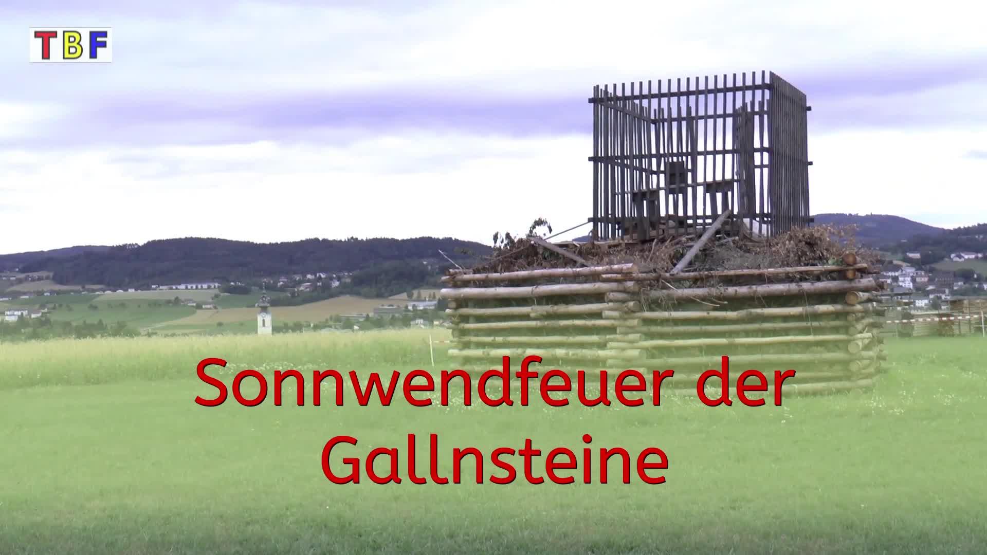 Sonnwendfeuer der Gallnsteine