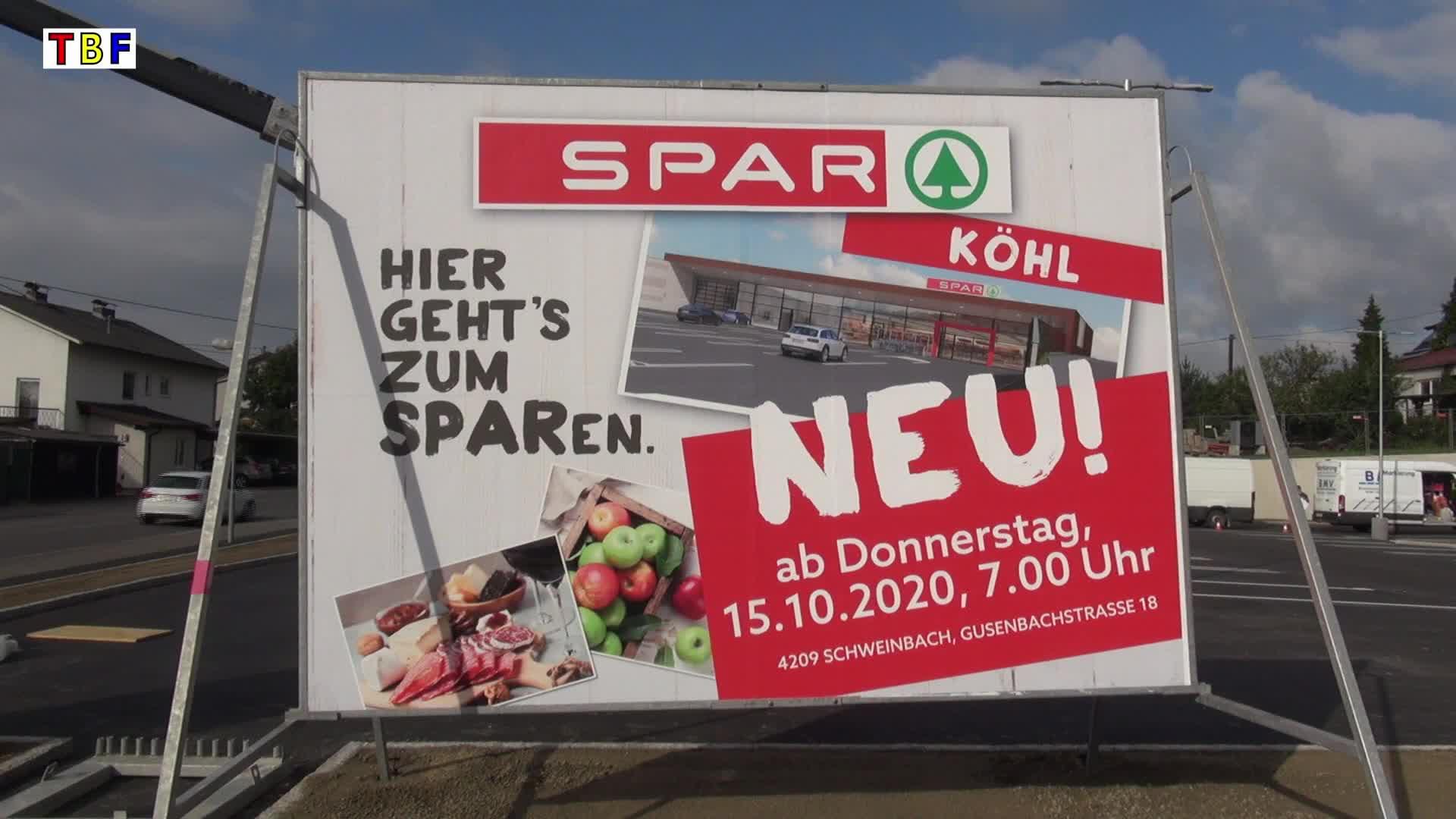 SPAR-Neubau in Schweinbach wird eröffnet