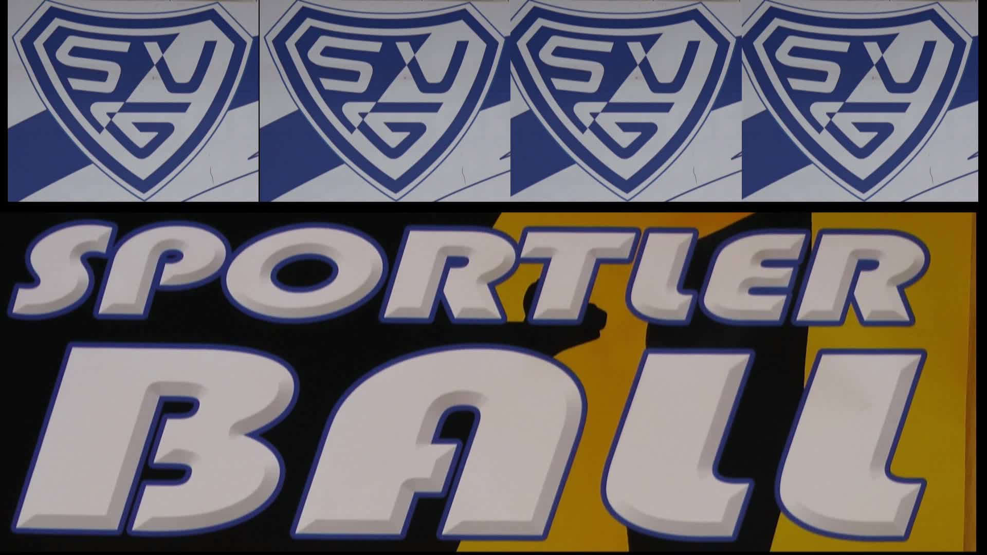 Sportlerball des SVG