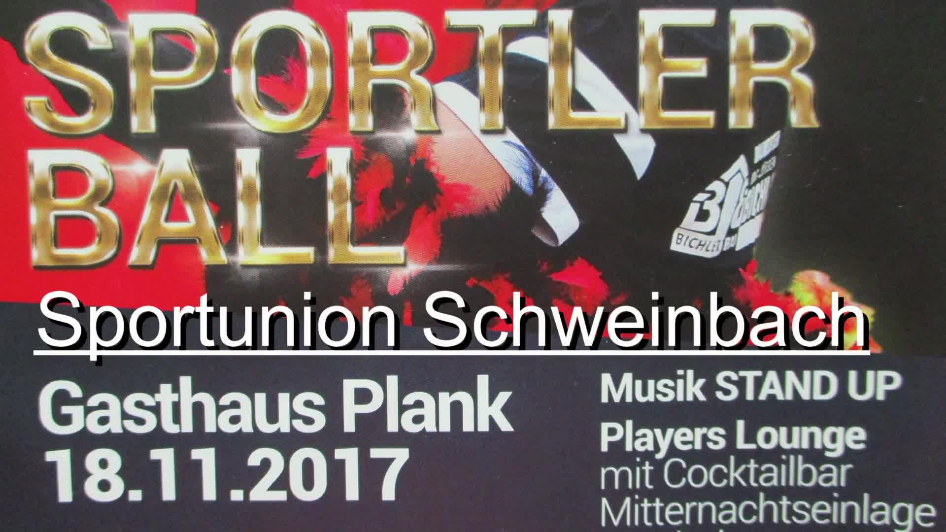 Sportlerball in Schweinbach