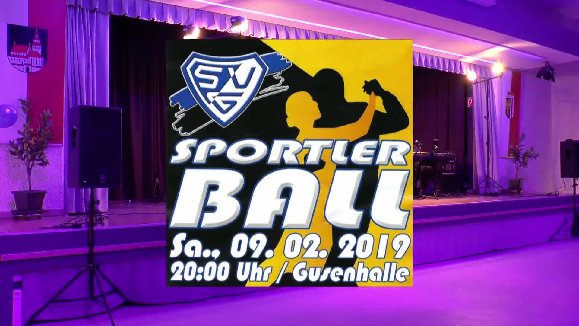 SVG Sportler Ball