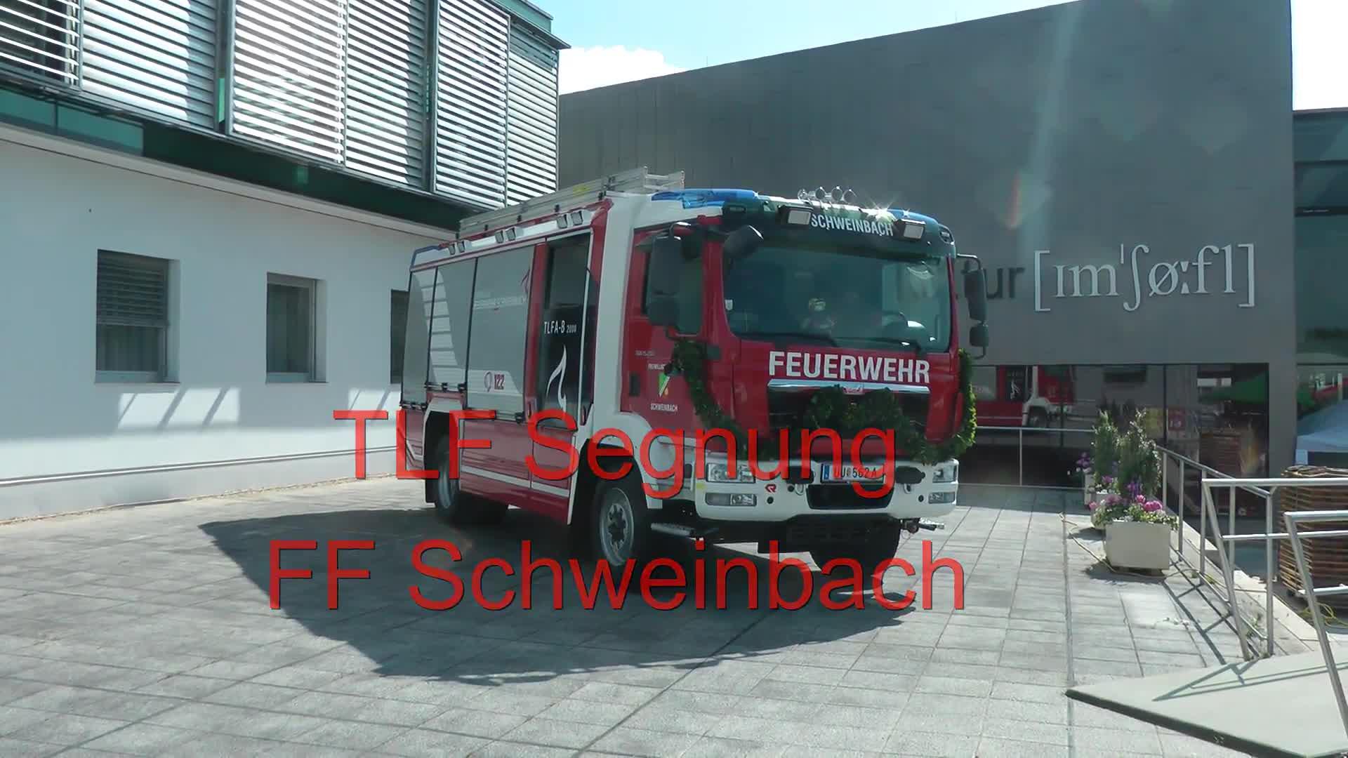 TLF Segnung FF Schweinbach