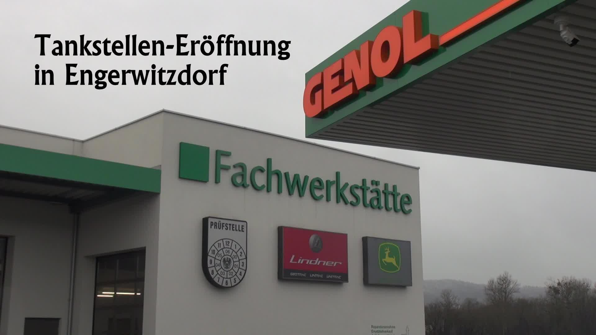 Tankstelleneröffnung in Engerwitzdorf